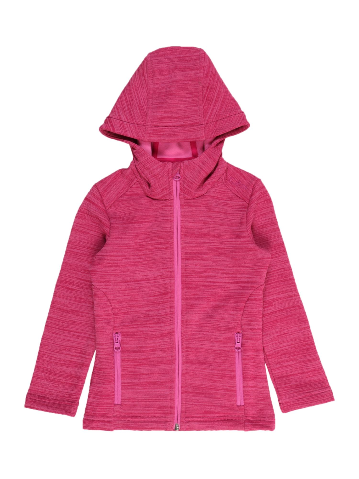 CMP Funkcinis flisinis džemperis rožinė / šviesiai rožinė