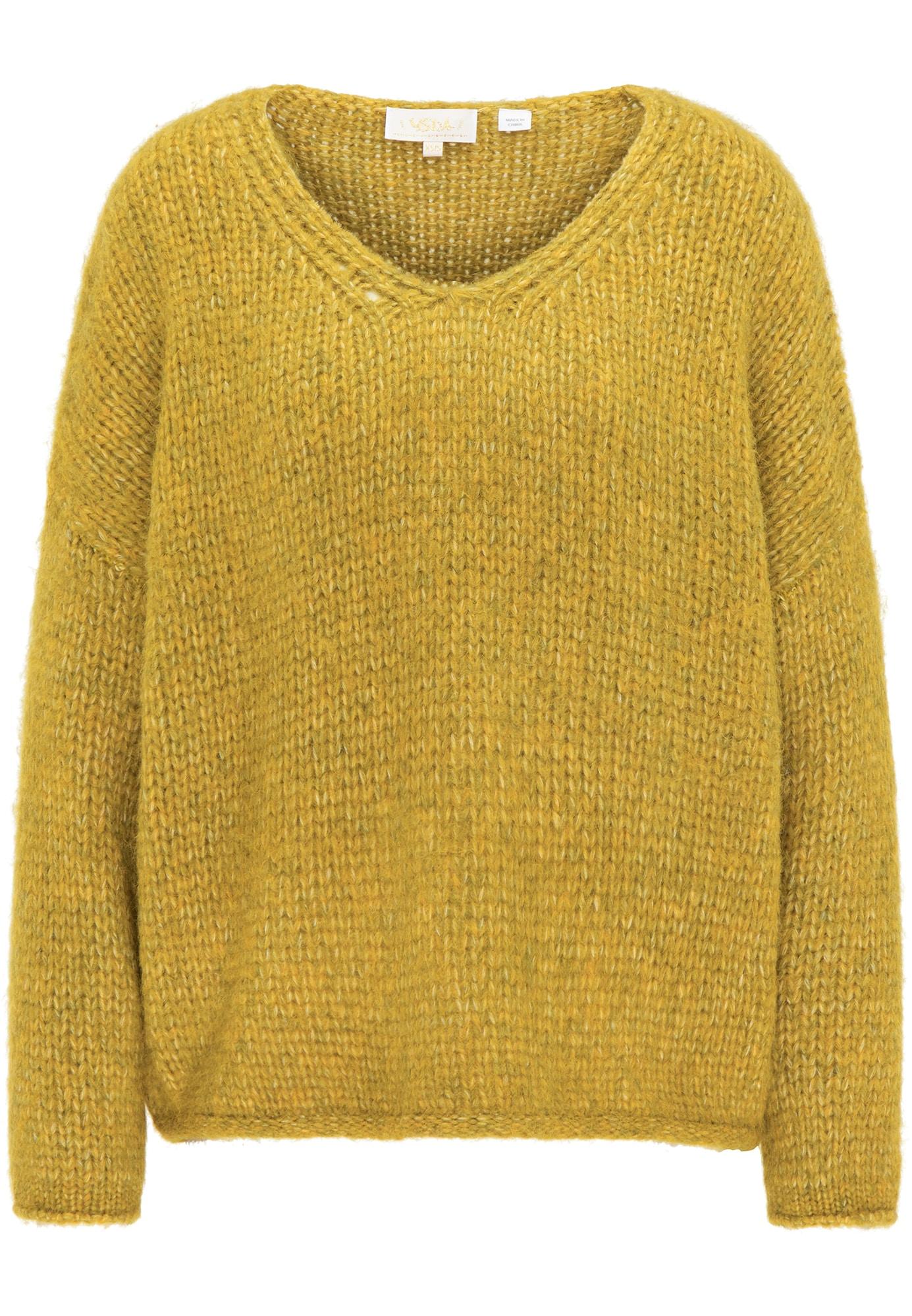 usha FESTIVAL Laisvas megztinis medaus spalva