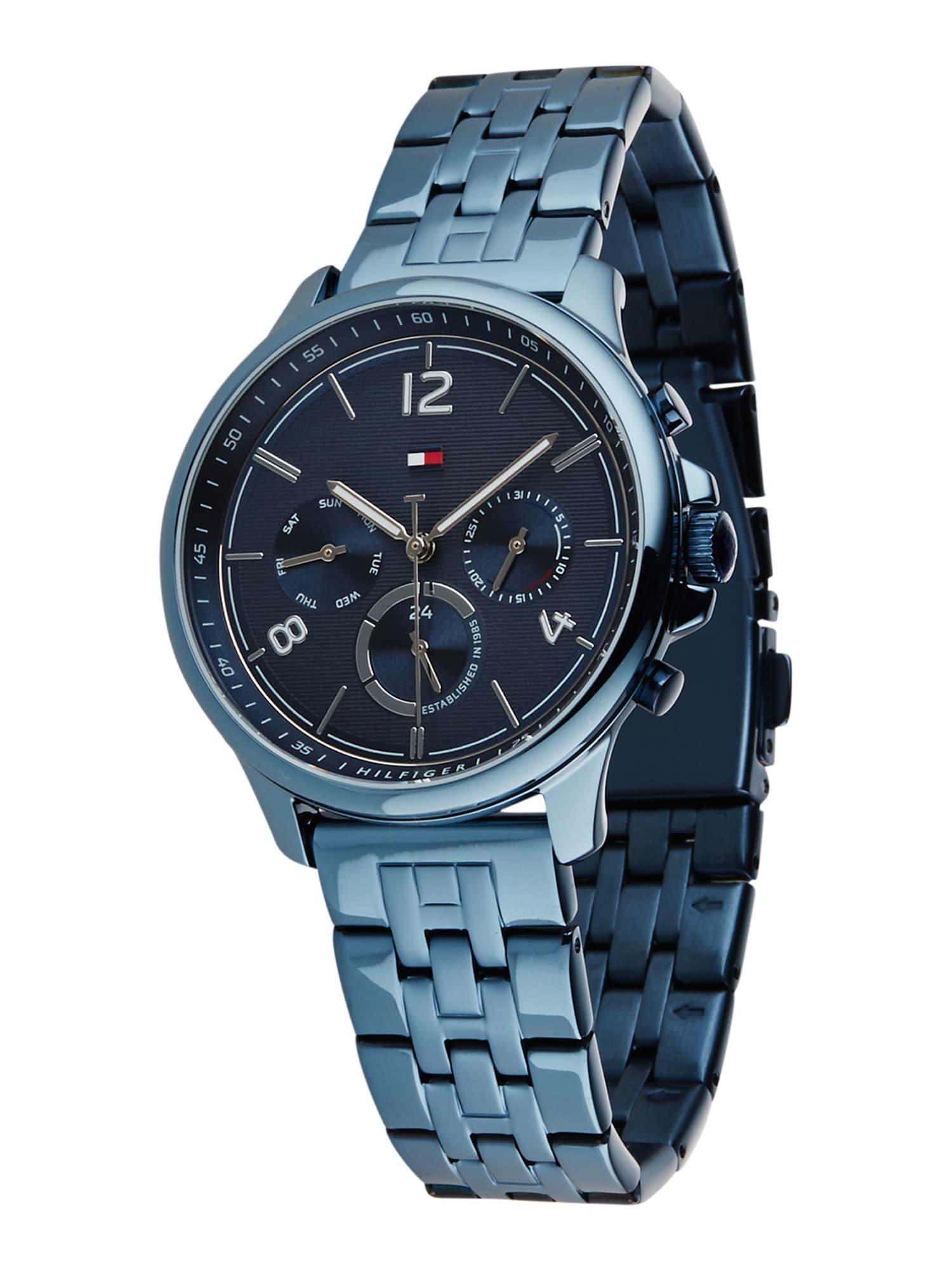TOMMY HILFIGER Analoginis (įprasto dizaino) laikrodis mėlyna