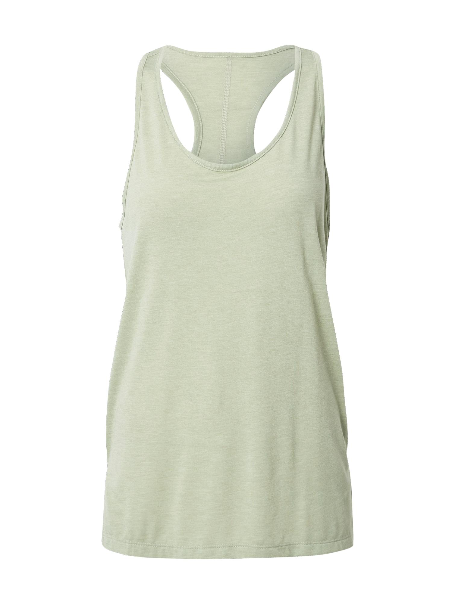NIKE Sportiniai marškinėliai be rankovių šviesiai žalia