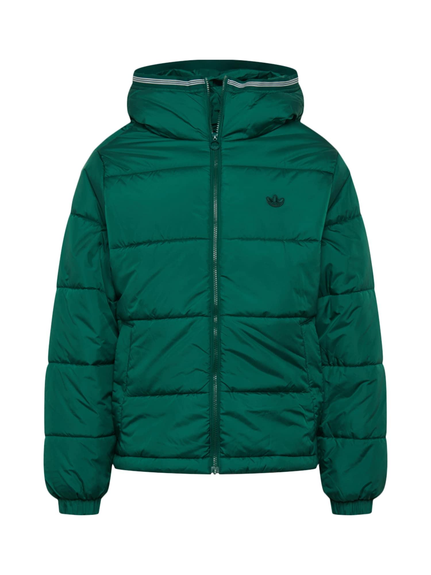 ADIDAS ORIGINALS Žieminė striukė žalia