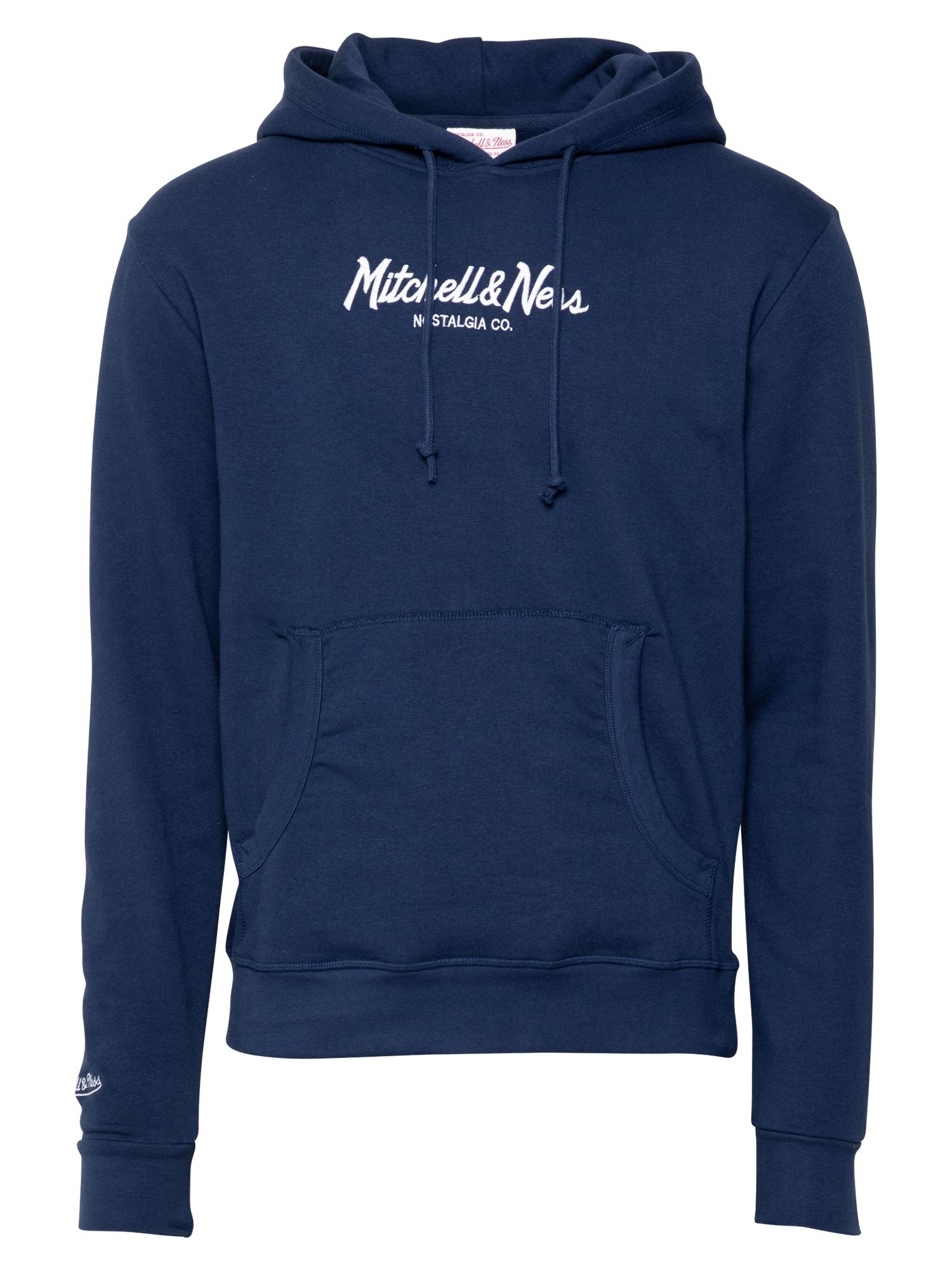 Mitchell & Ness Megztinis be užsegimo tamsiai mėlyna / balta