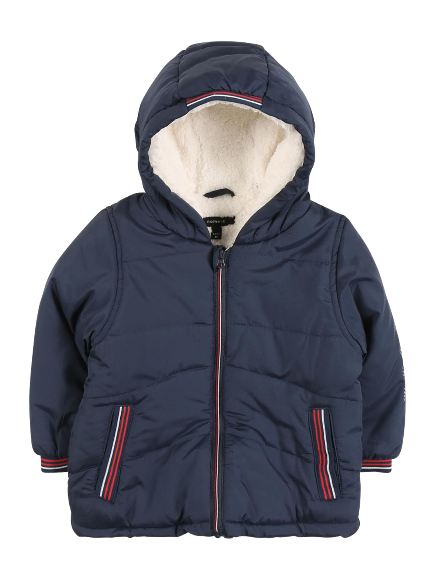 NAME IT Zimná bunda 'NBMMingo'  tmavomodrá