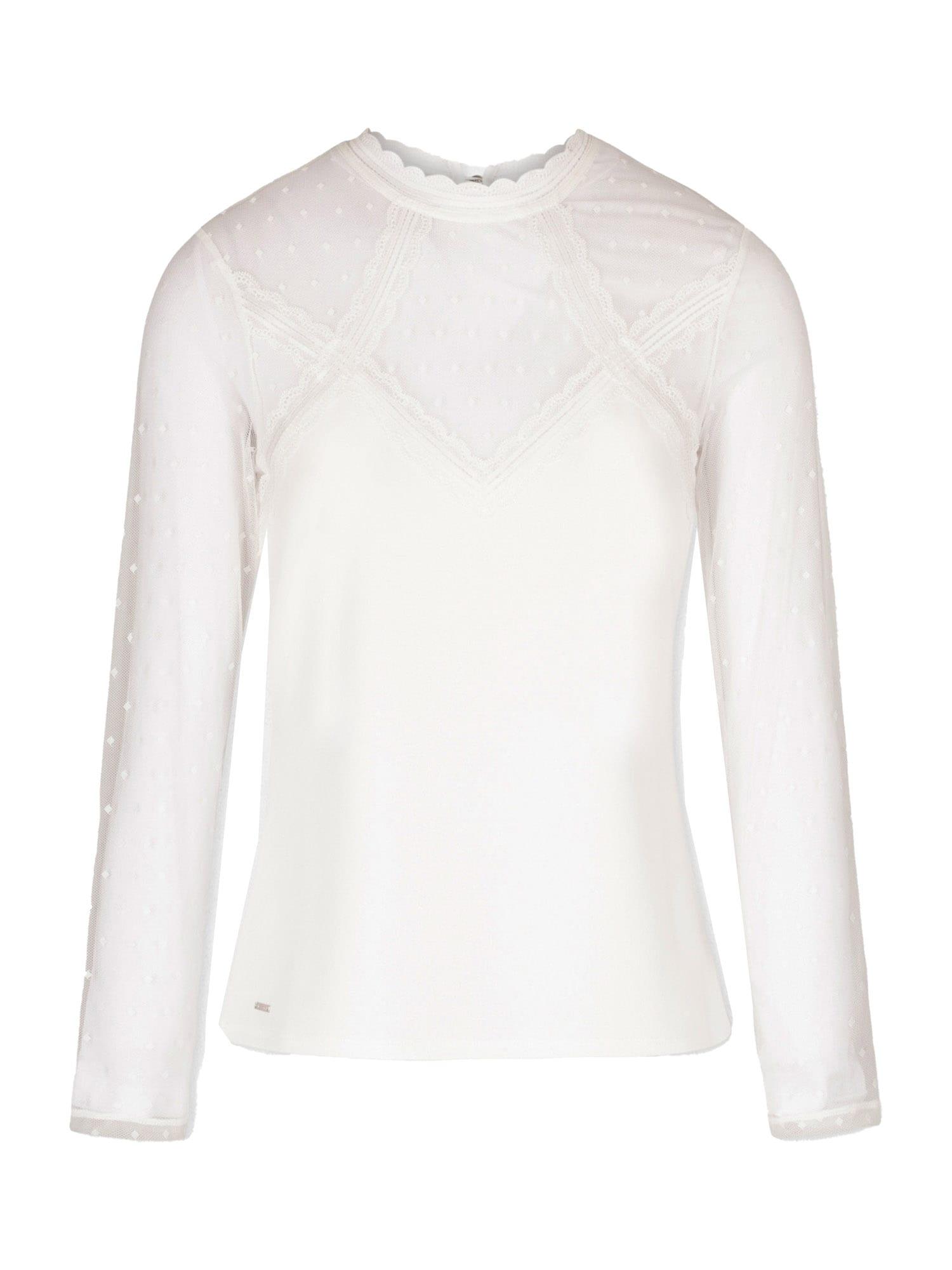 Morgan Marškinėliai balta