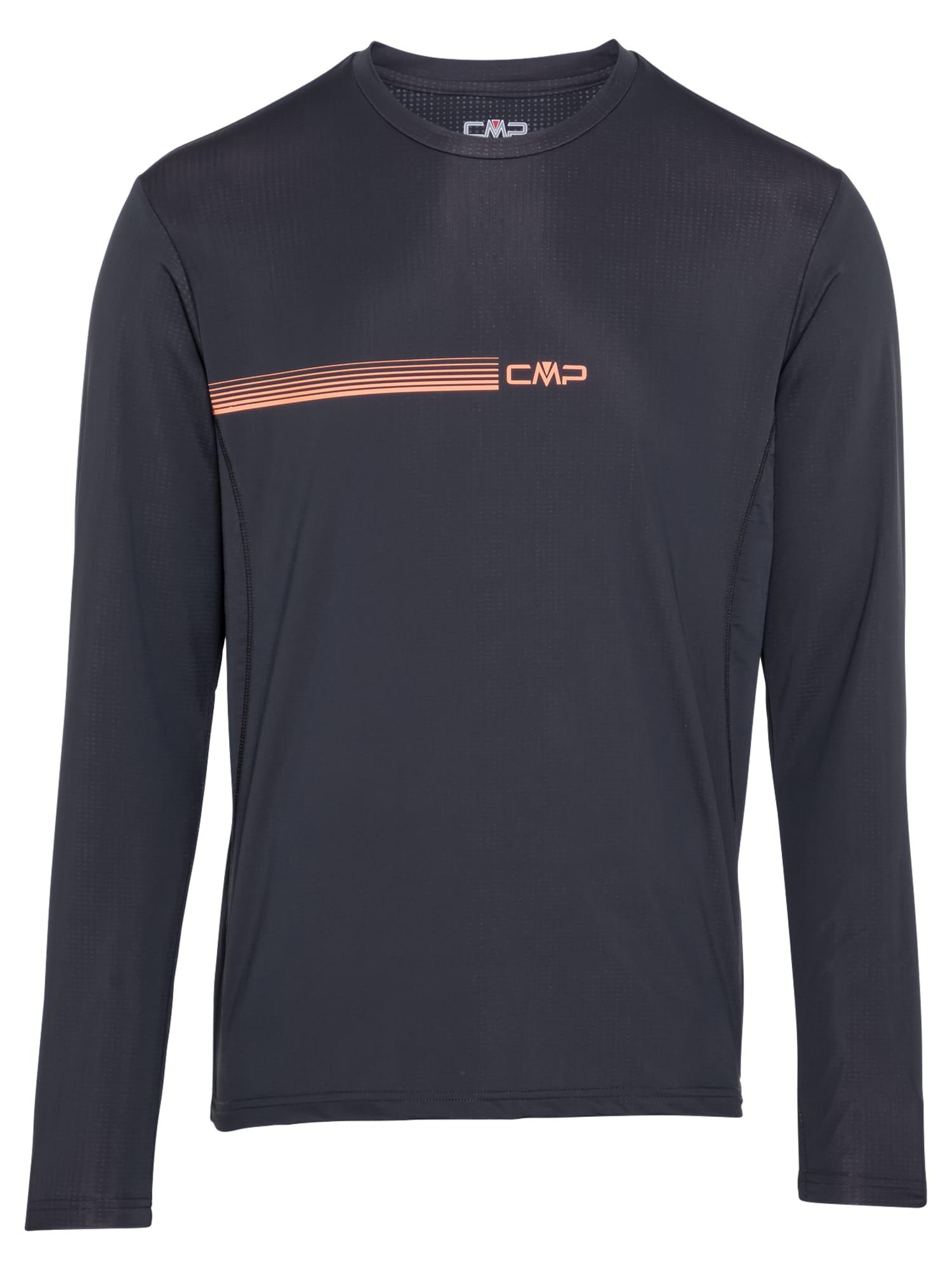 CMP Sportiniai marškinėliai antracito / lašišų spalva