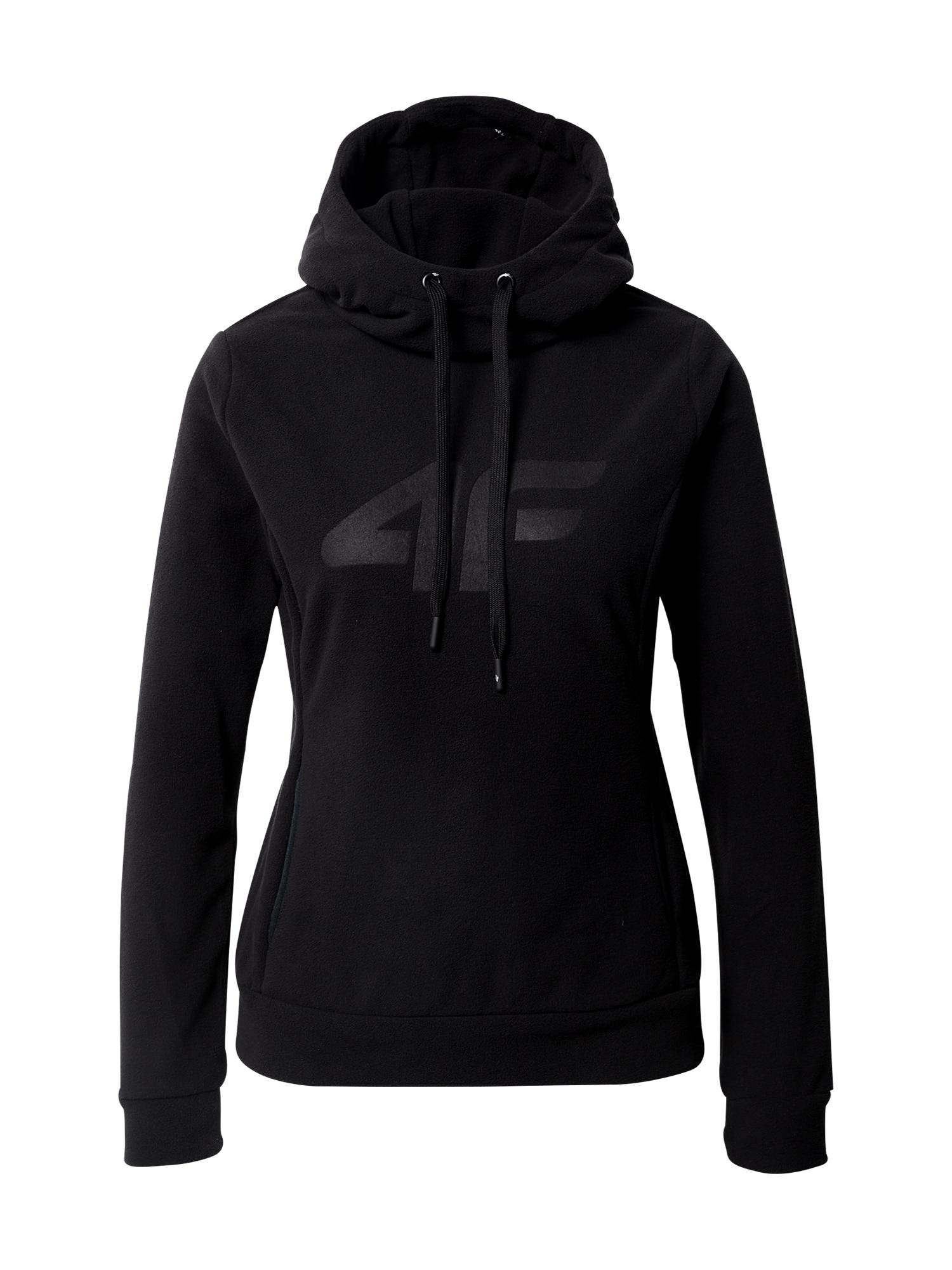 4F Sportinio tipo megztinis juoda