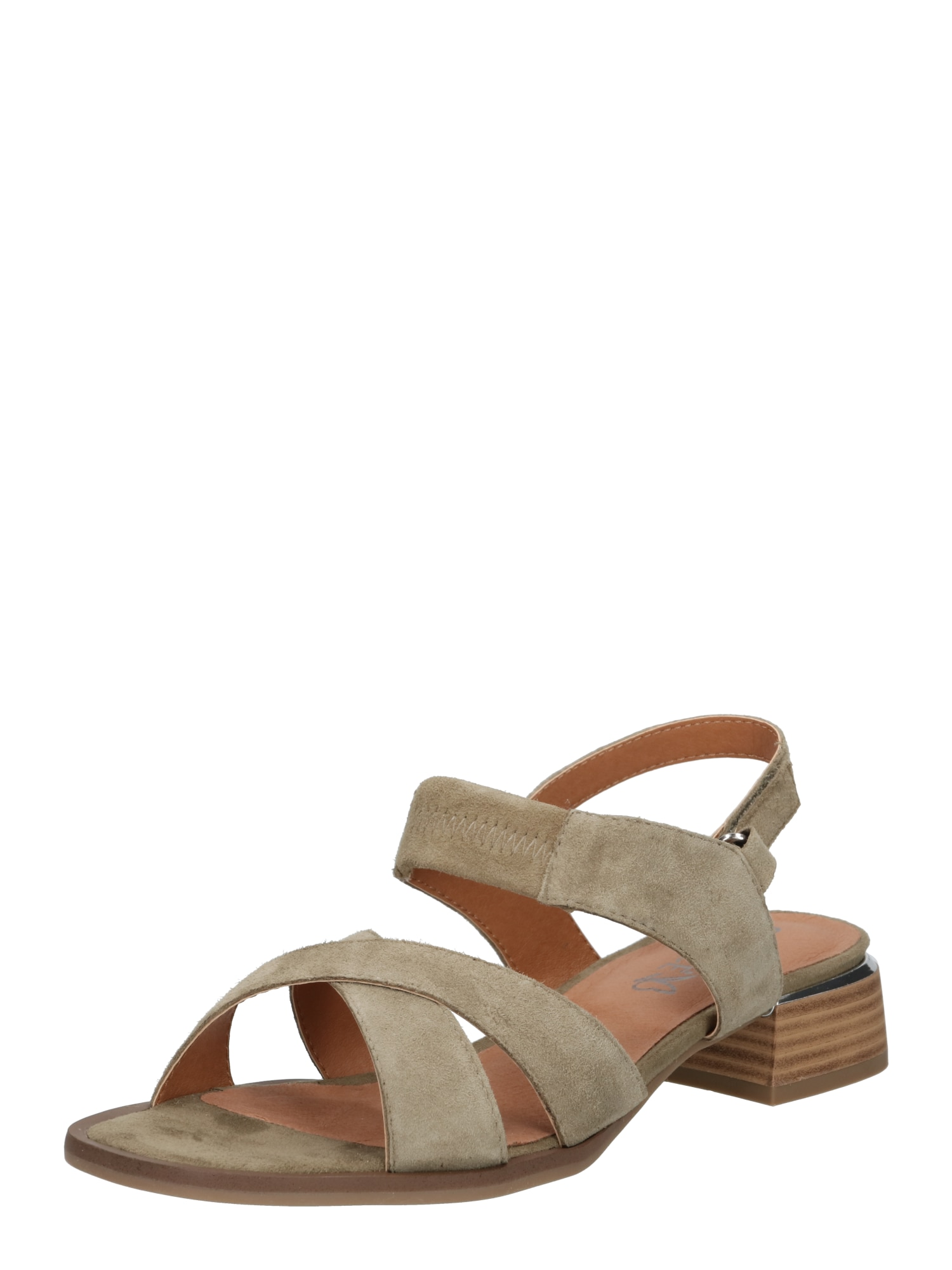 CAPRICE Sandalai žalia