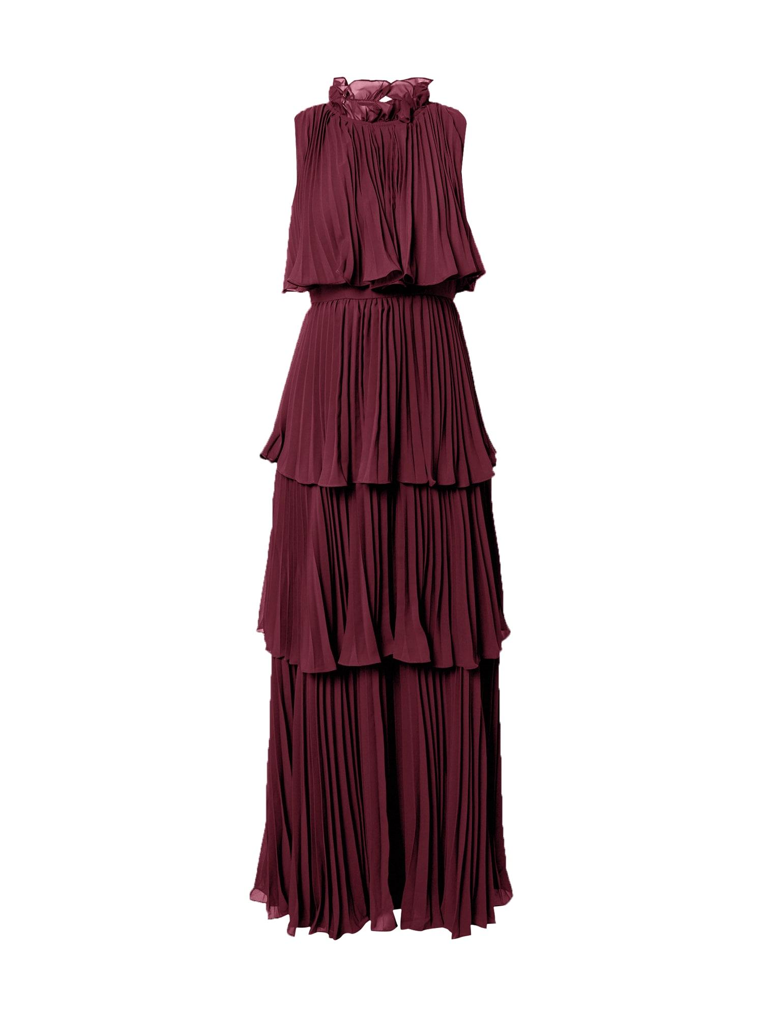 True Decadence Suknelė burgundiško vyno spalva