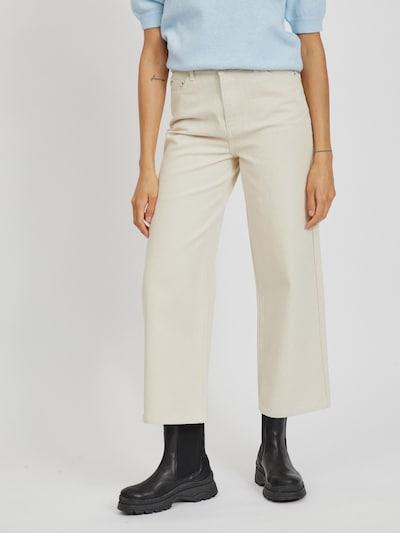 Vila Moano Jeans mit weitem Bein und hohem Bund