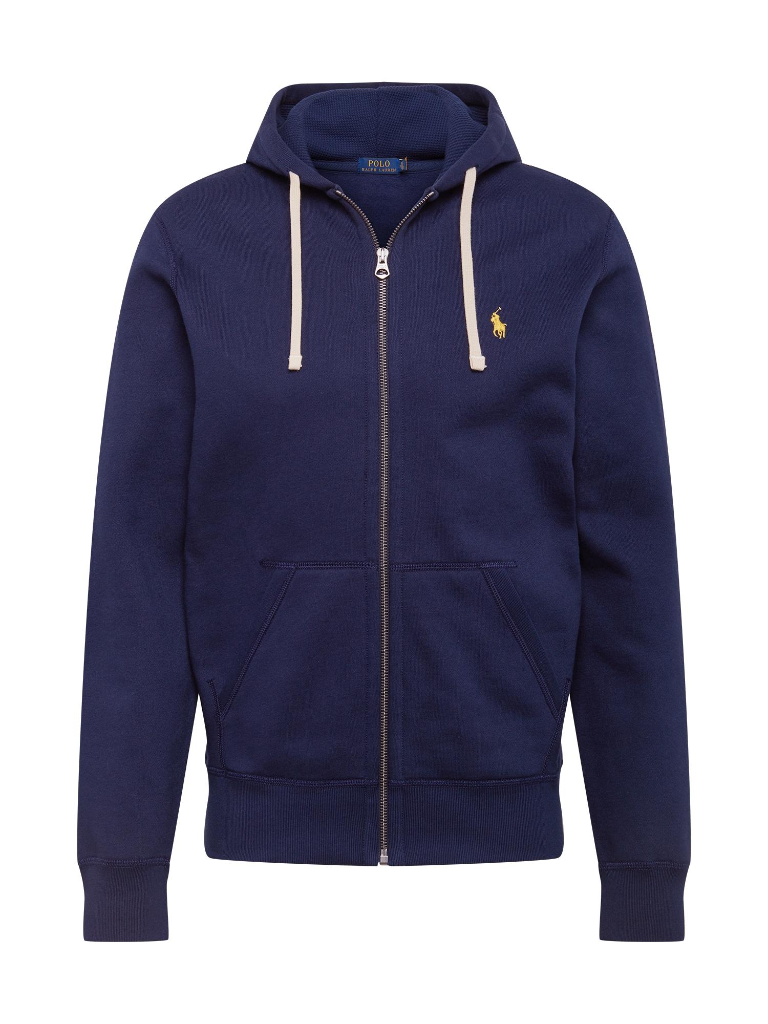 POLO RALPH LAUREN Džemperis tamsiai mėlyna / geltona