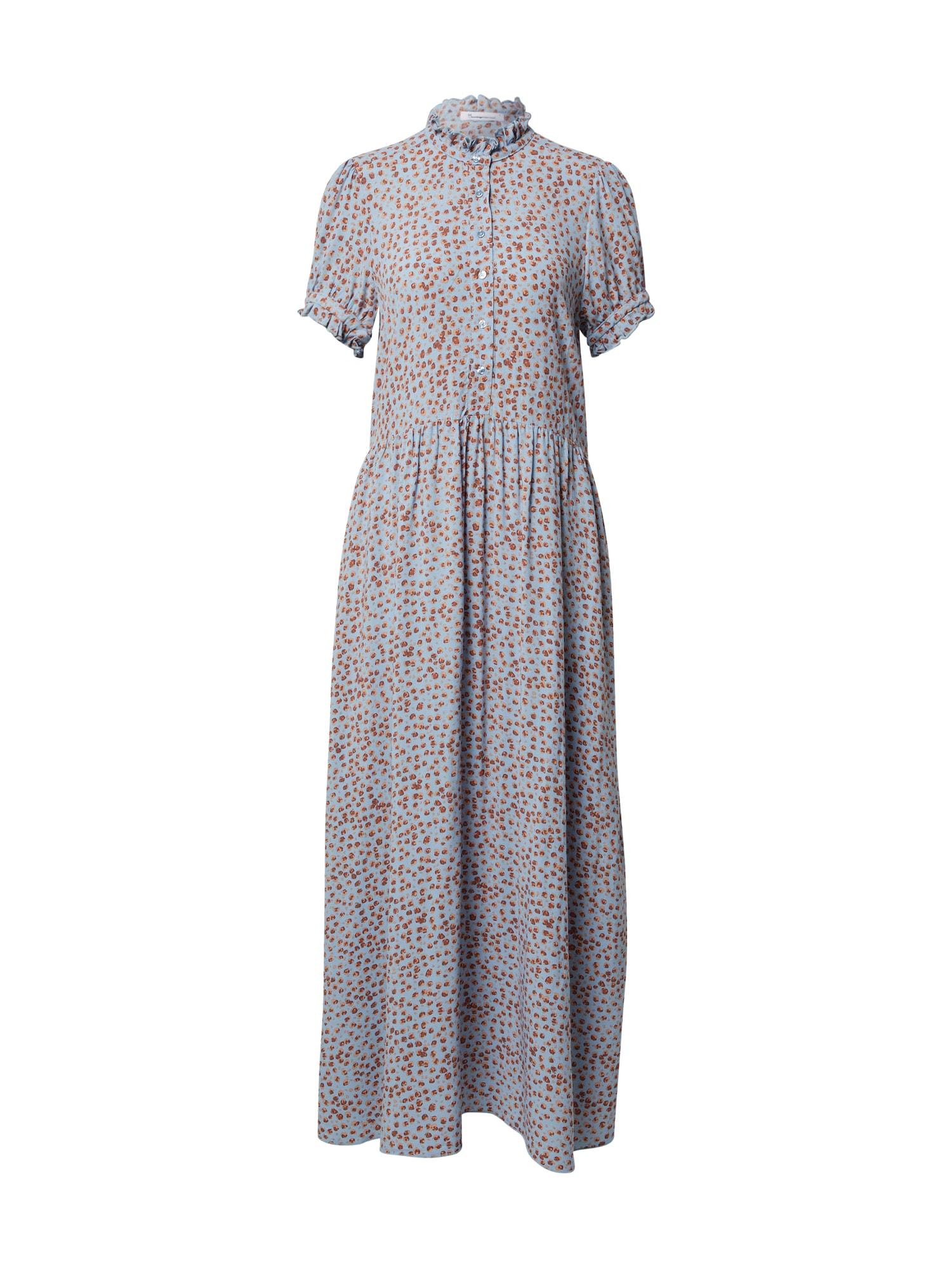 KnowledgeCotton Apparel Letní šaty 'Fleur'  šeříková