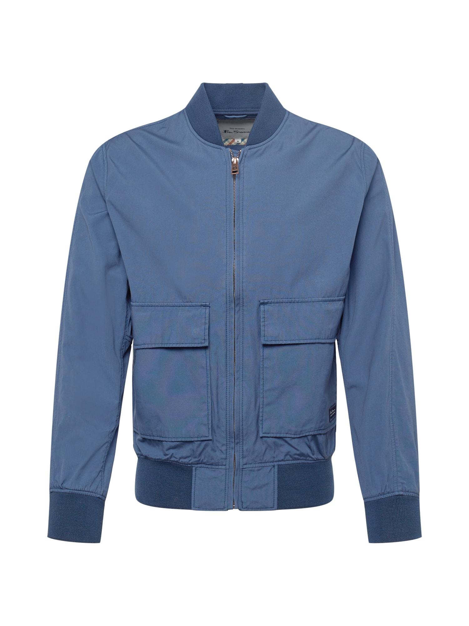 Ben Sherman Přechodná bunda  chladná modrá