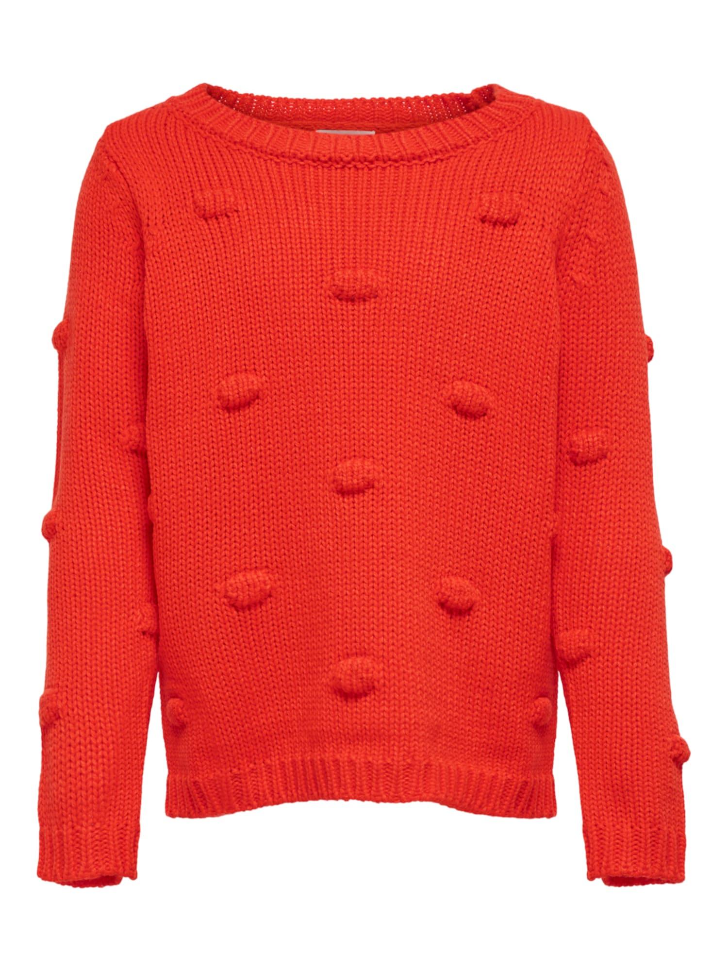 ONLY Megztinis oranžinė