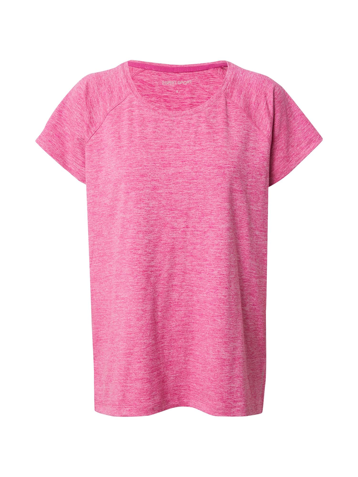 ESPRIT SPORT Sportiniai marškinėliai rožinė