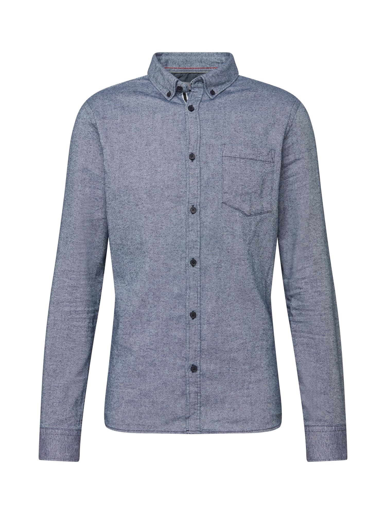 !Solid Košile 'Arvid'  tmavě modrá