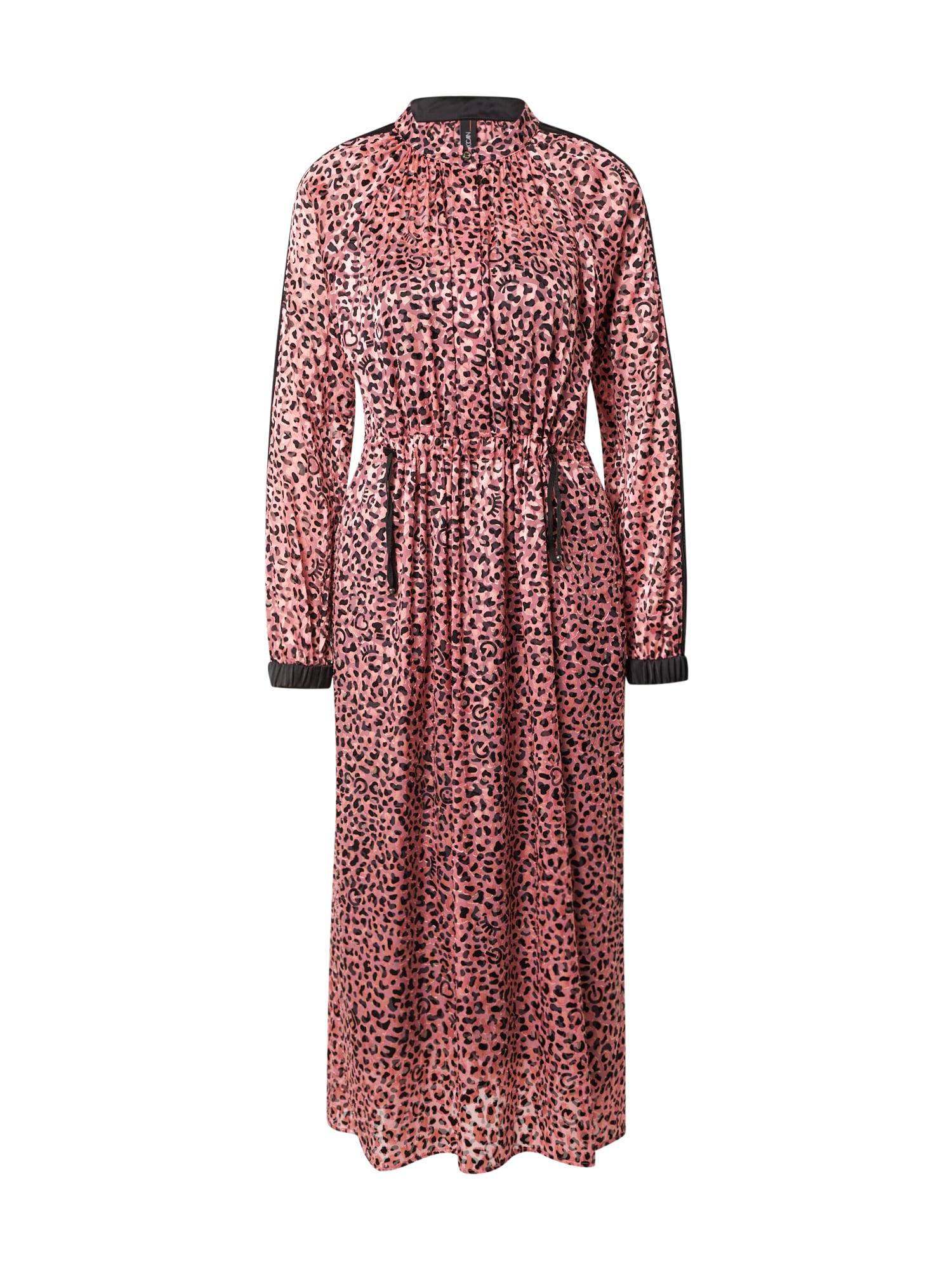 Marc Cain Palaidinės tipo suknelė rožinė / rožių spalva / juoda