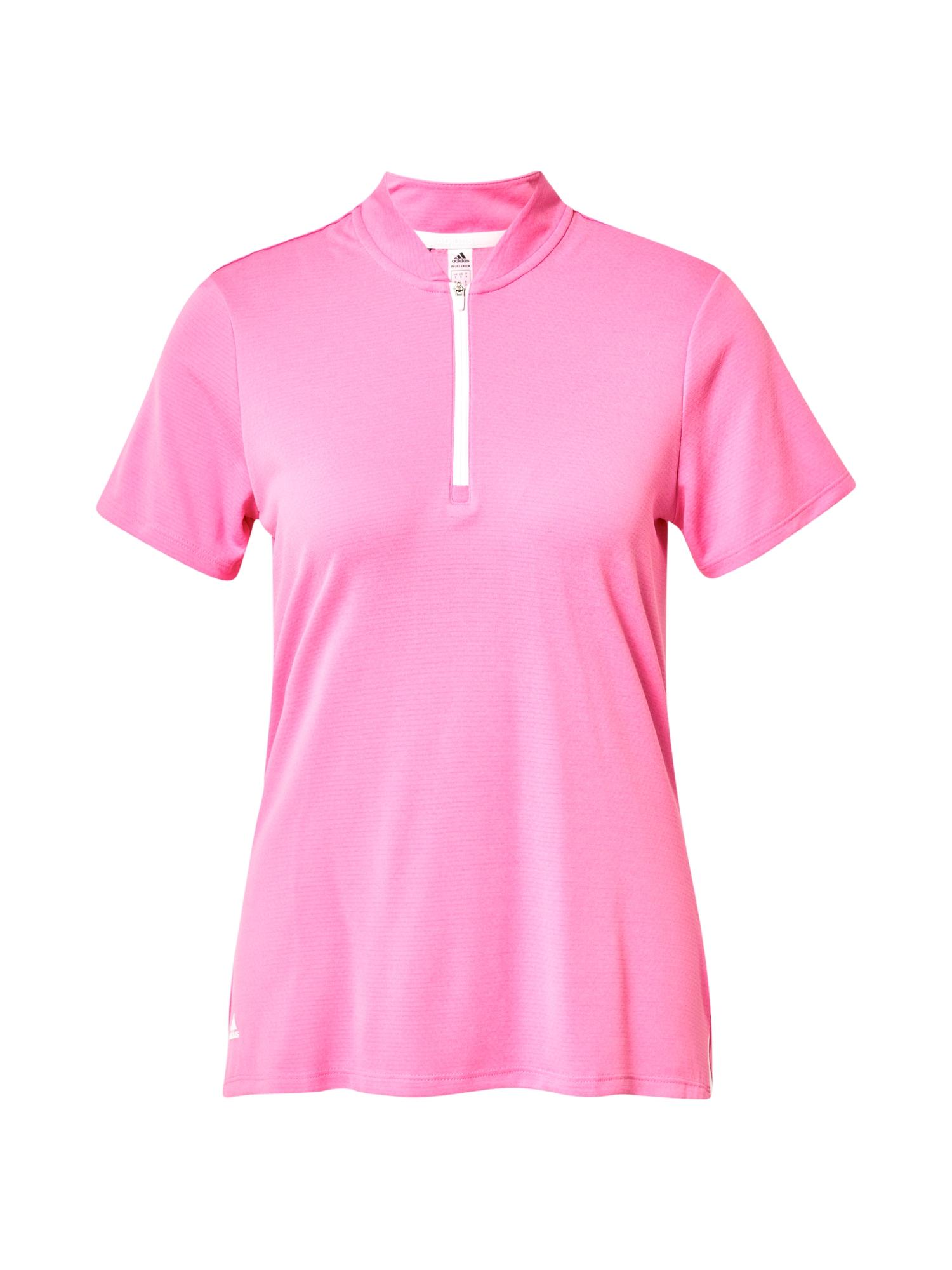 adidas Golf Marškinėliai rožinė