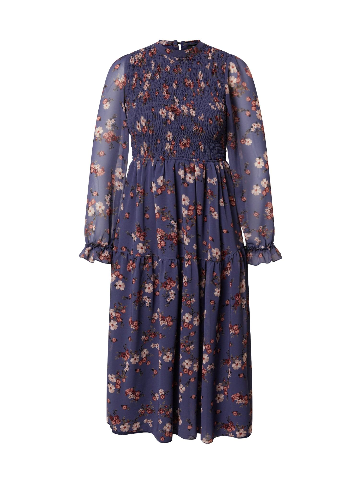 Trendyol Šaty  modrá / pink