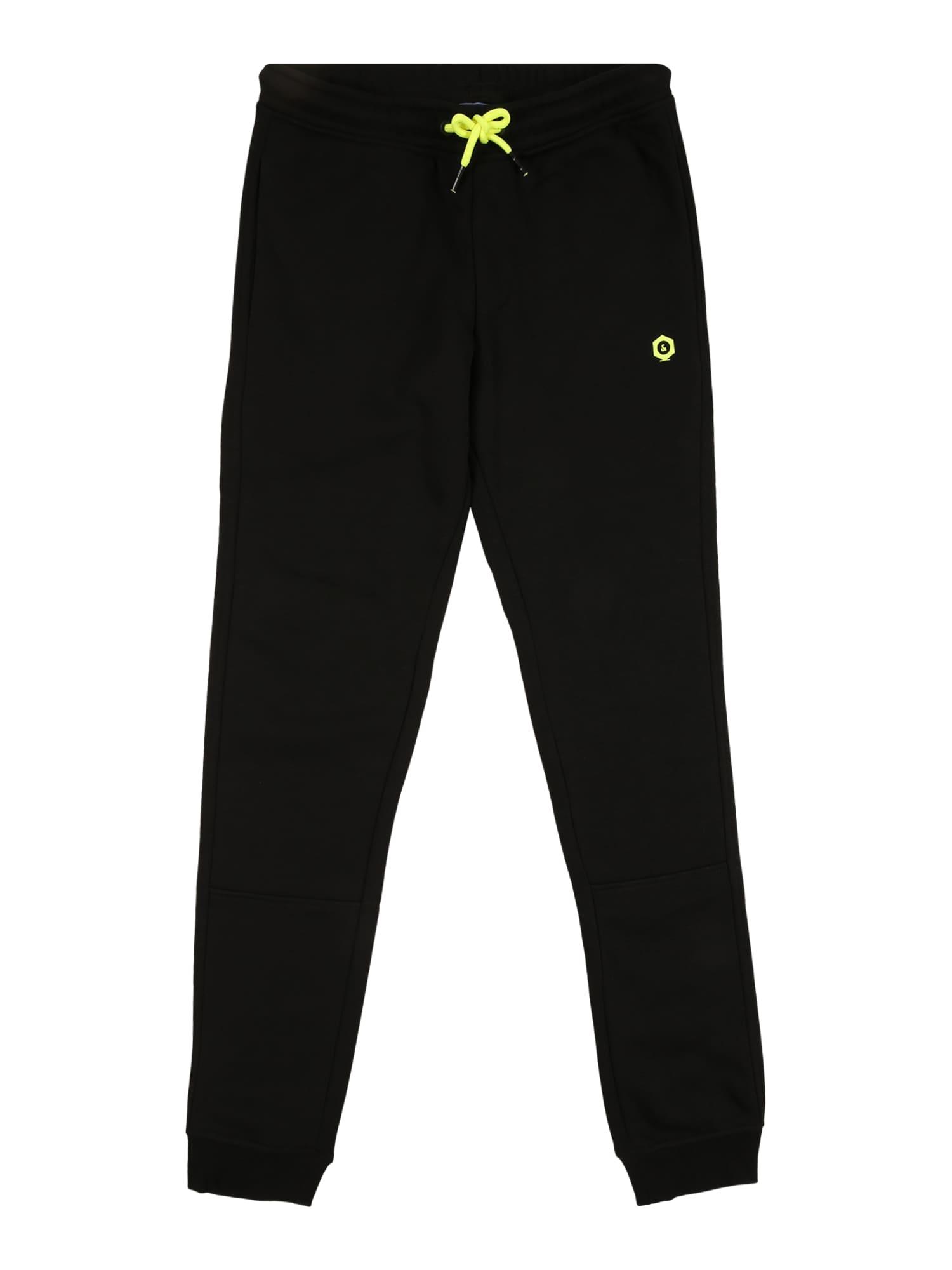 Jack & Jones Junior Kalhoty 'VISUAL'  černá
