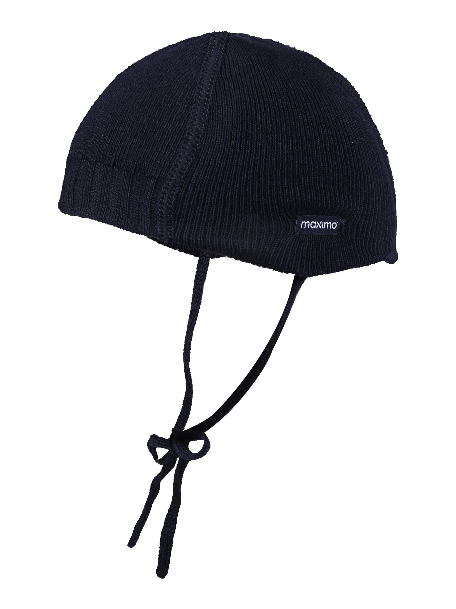 MAXIMO Megzta kepurė 'Sunni' tamsiai mėlyna jūros spalva