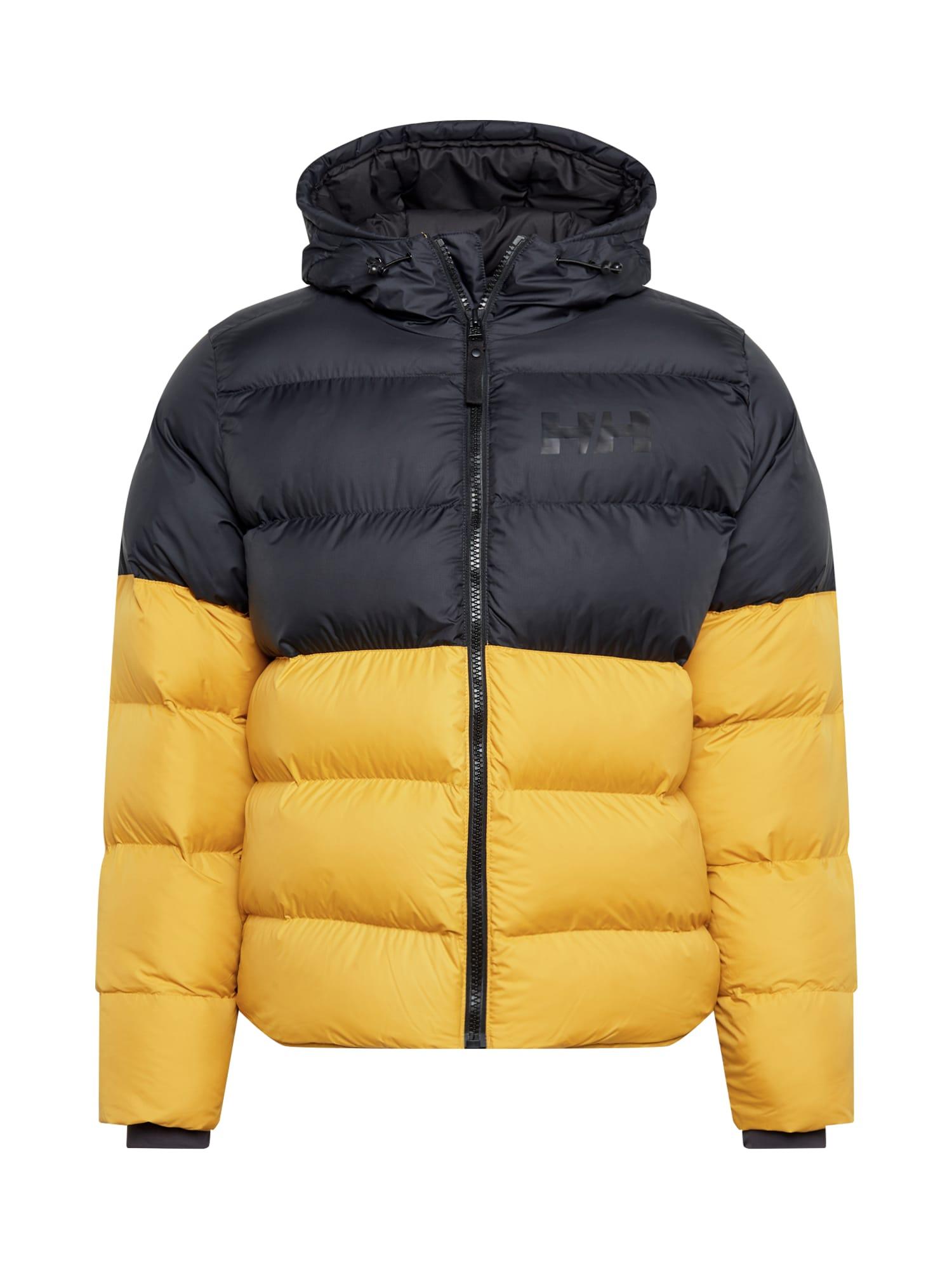 HELLY HANSEN Zimní bunda  šafrán / černá
