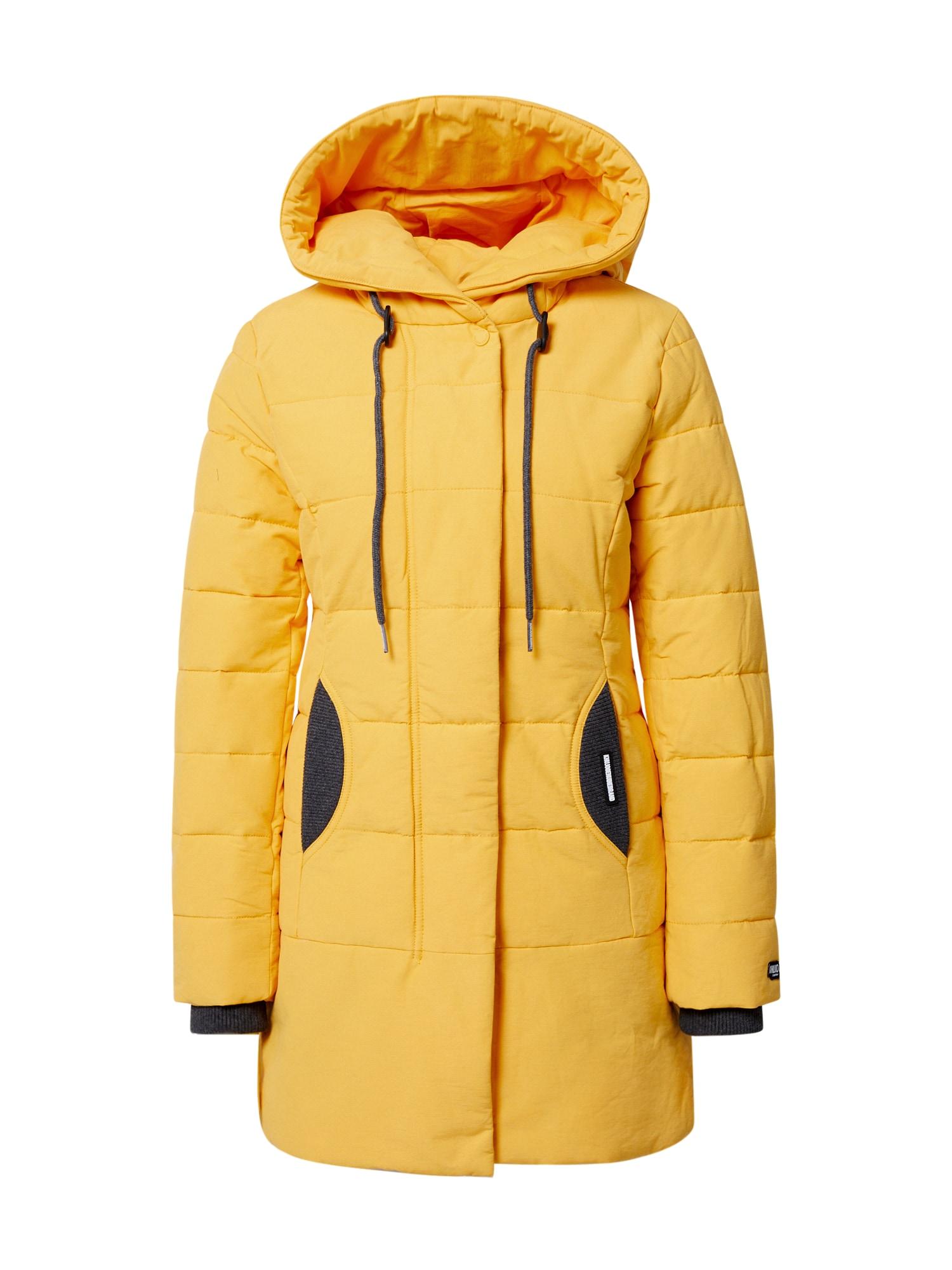 khujo Zimní bunda 'Sherma 2'  žlutá