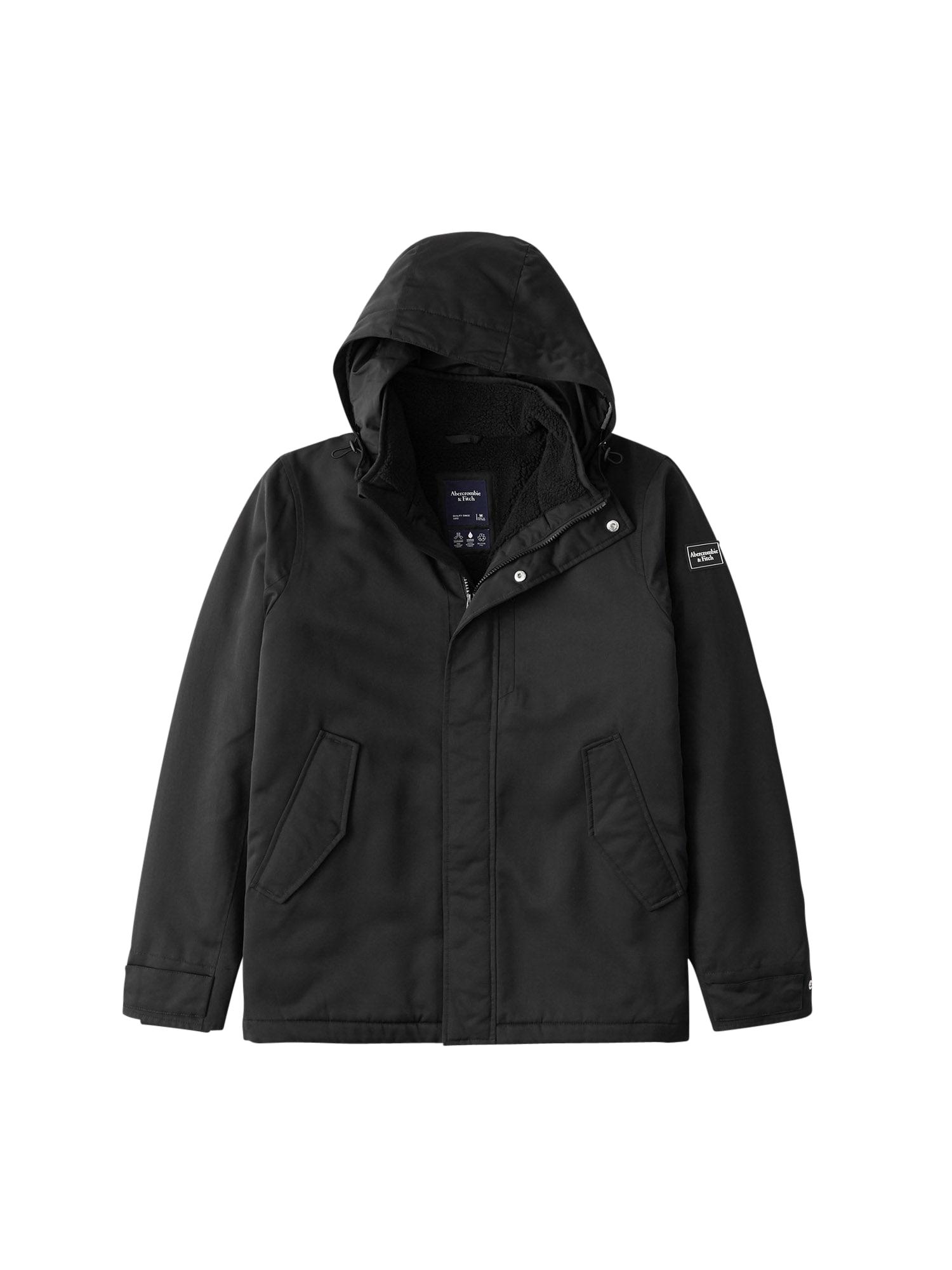 Abercrombie & Fitch Zimní bunda  černá