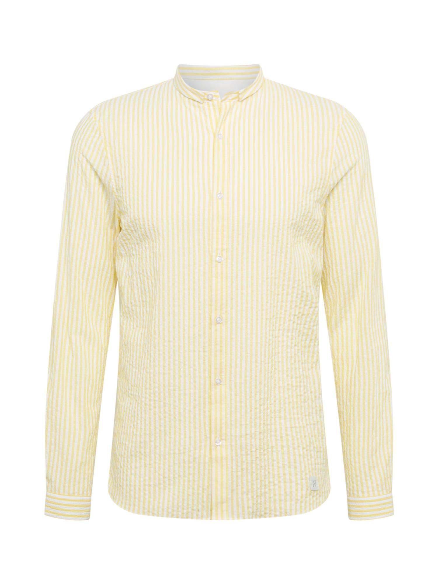 NOWADAYS Marškiniai geltona / balta