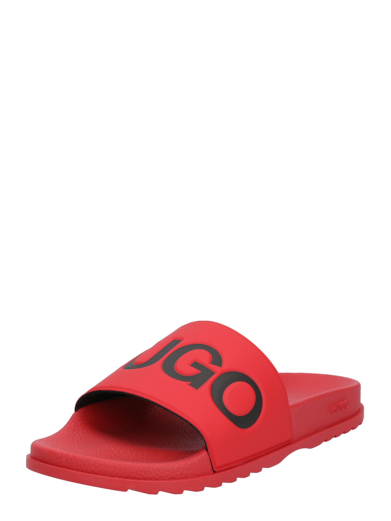HUGO Pantofle 'Match'  červená