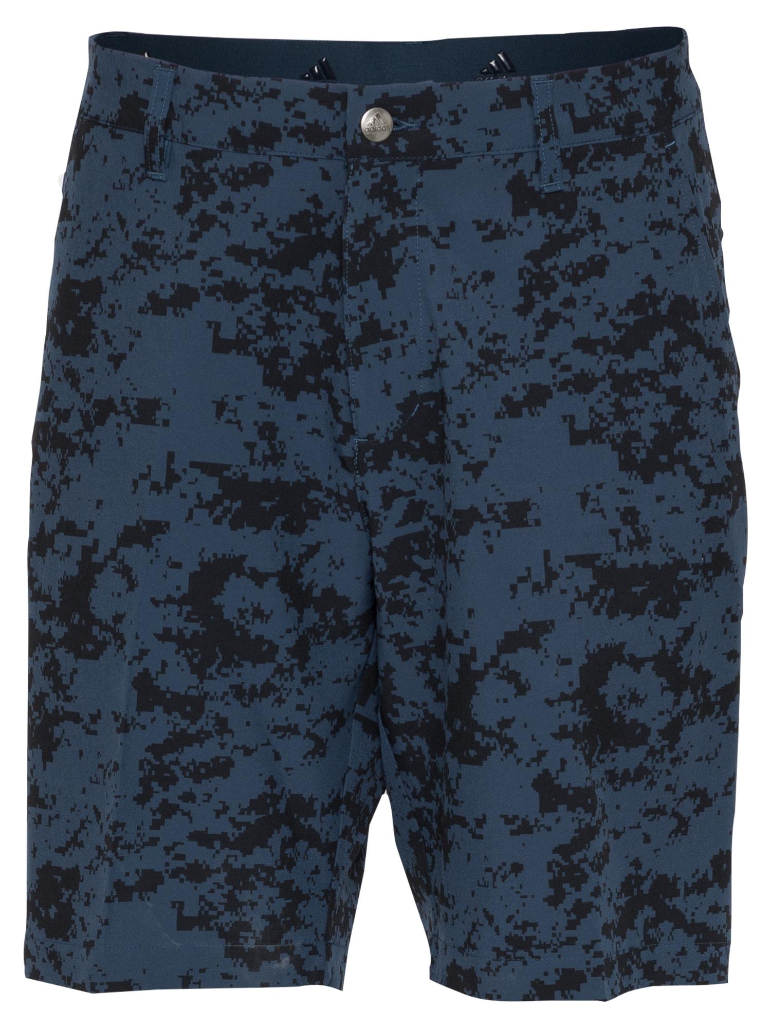 adidas Golf Sportinės kelnės tamsiai mėlyna / juoda