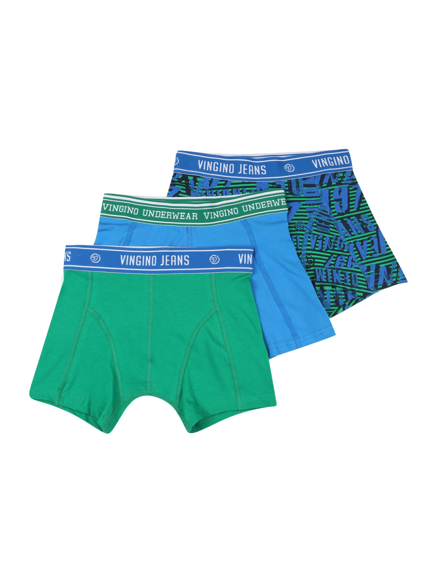 VINGINO Spodní prádlo  aqua modrá / zelená / námořnická modř / bílá