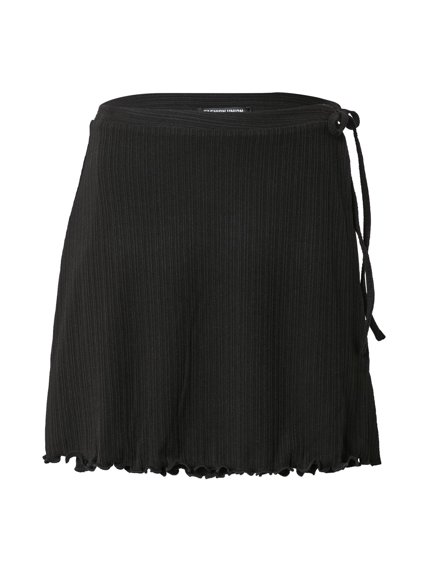 Fashion Union Sukně 'POLINO'  černá