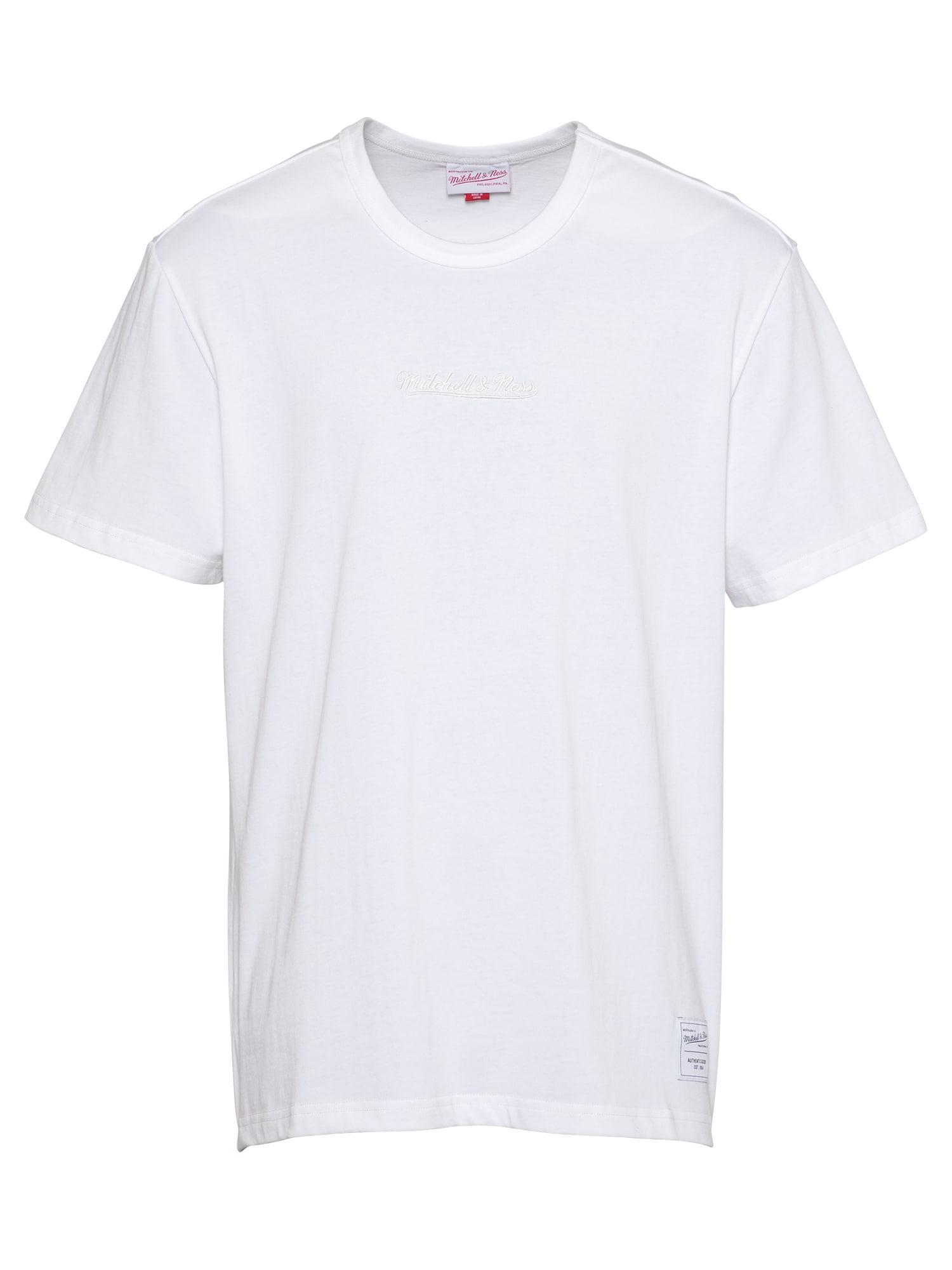 Mitchell & Ness Marškinėliai balta