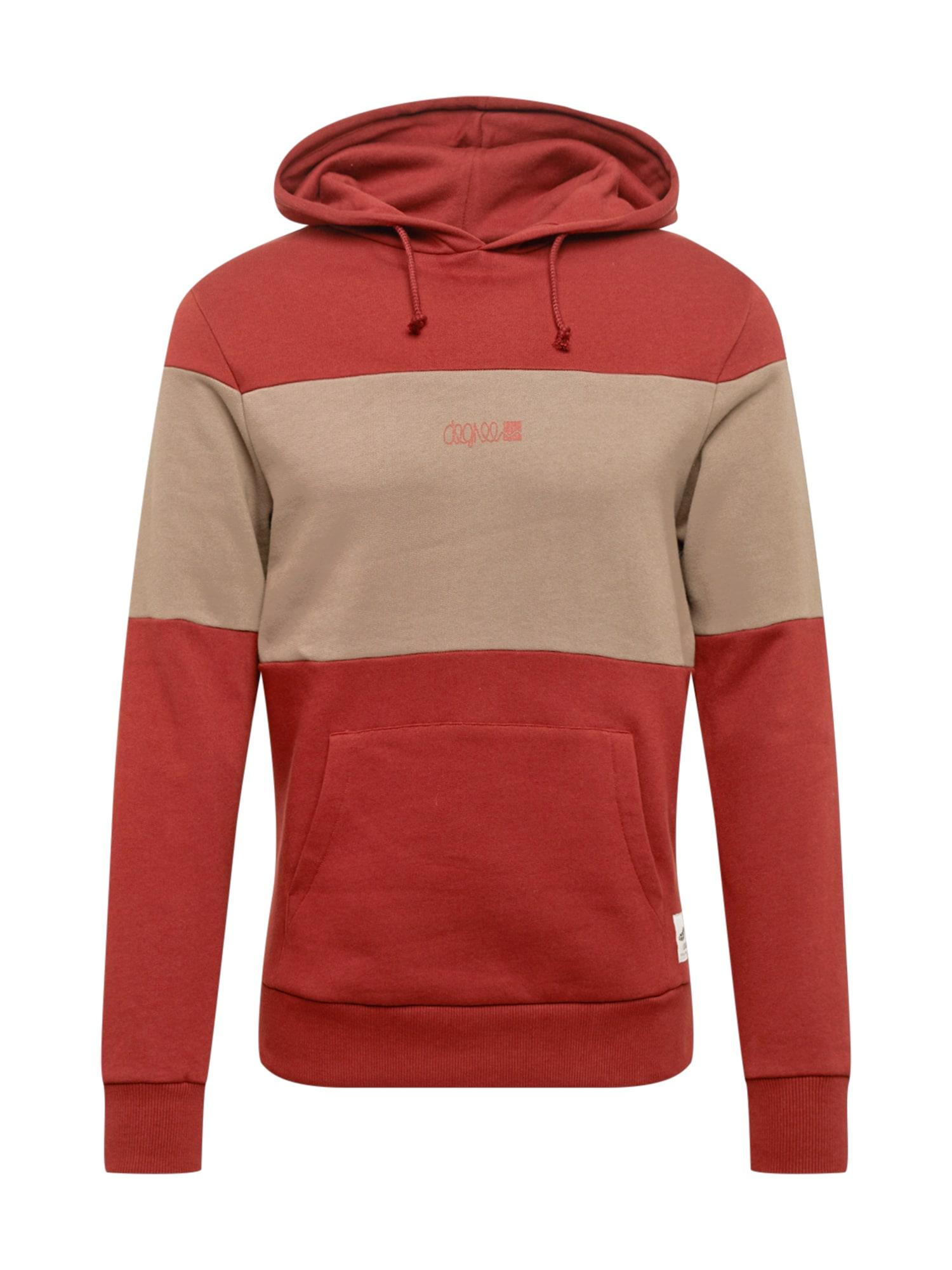 Degree Megztinis be užsegimo šviesiai ruda / raudona