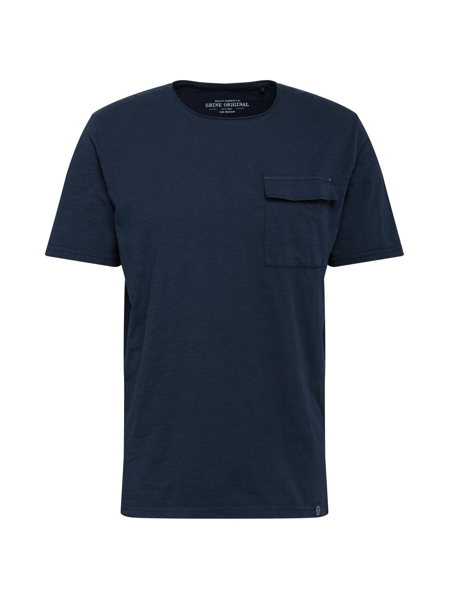 SHINE ORIGINAL Marškinėliai tamsiai mėlyna