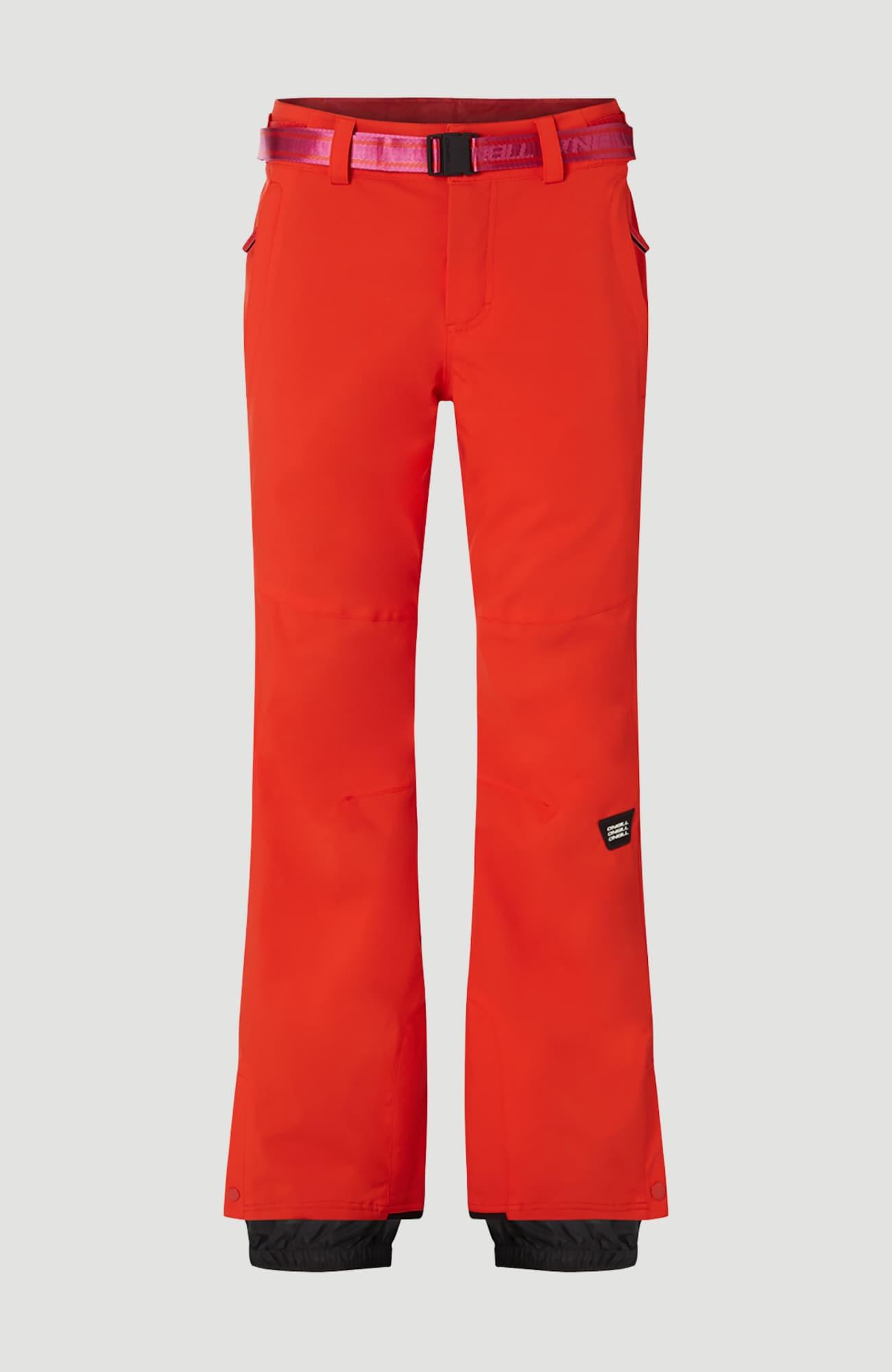 O'NEILL Outdoorové kalhoty 'Star Slim'  ohnivá červená