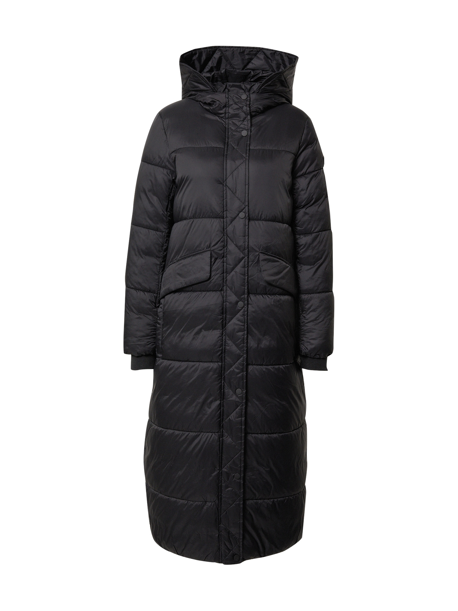 EDC BY ESPRIT Zimní kabát  černá