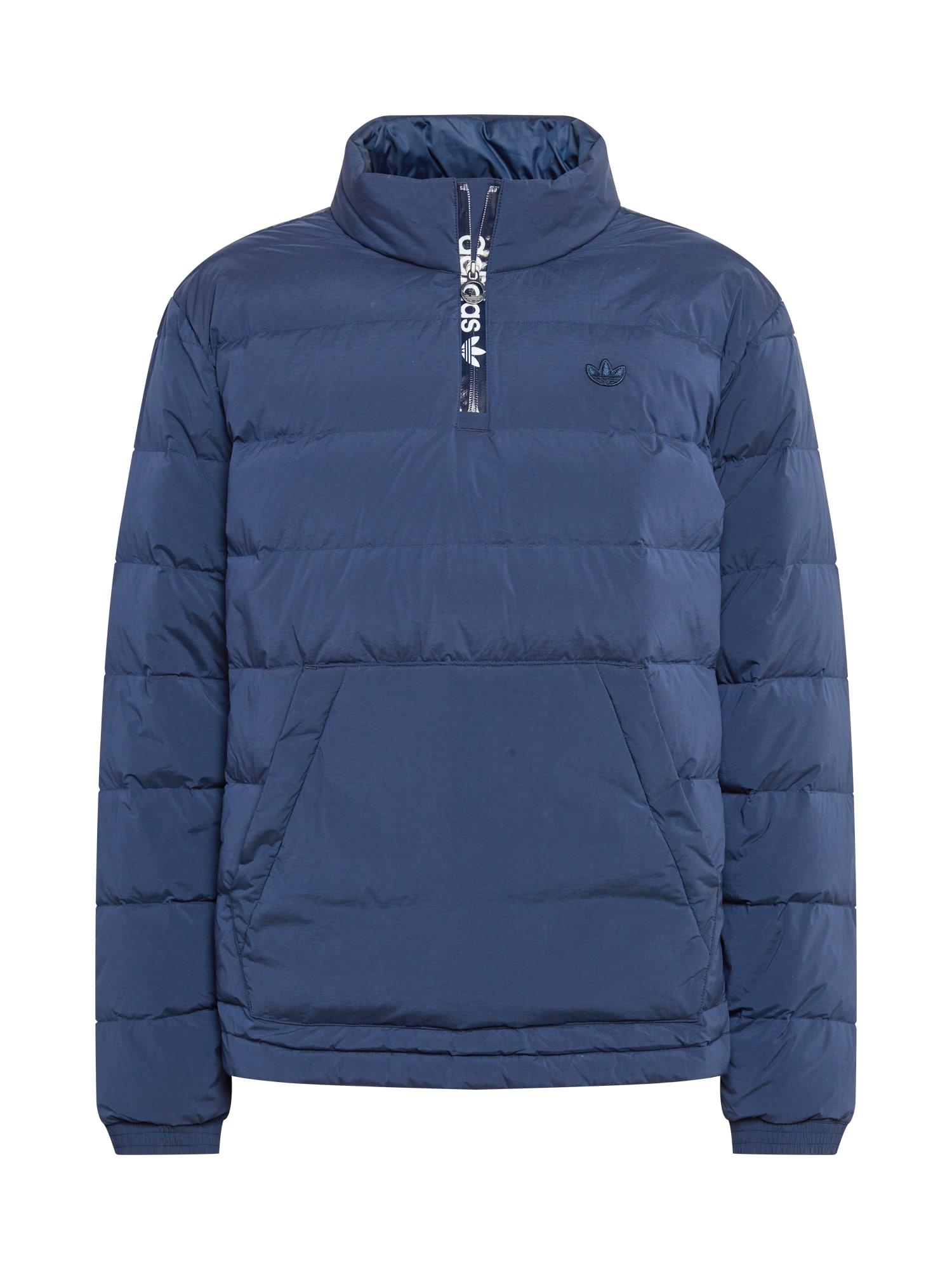 ADIDAS ORIGINALS Žieminė striukė mėlyna