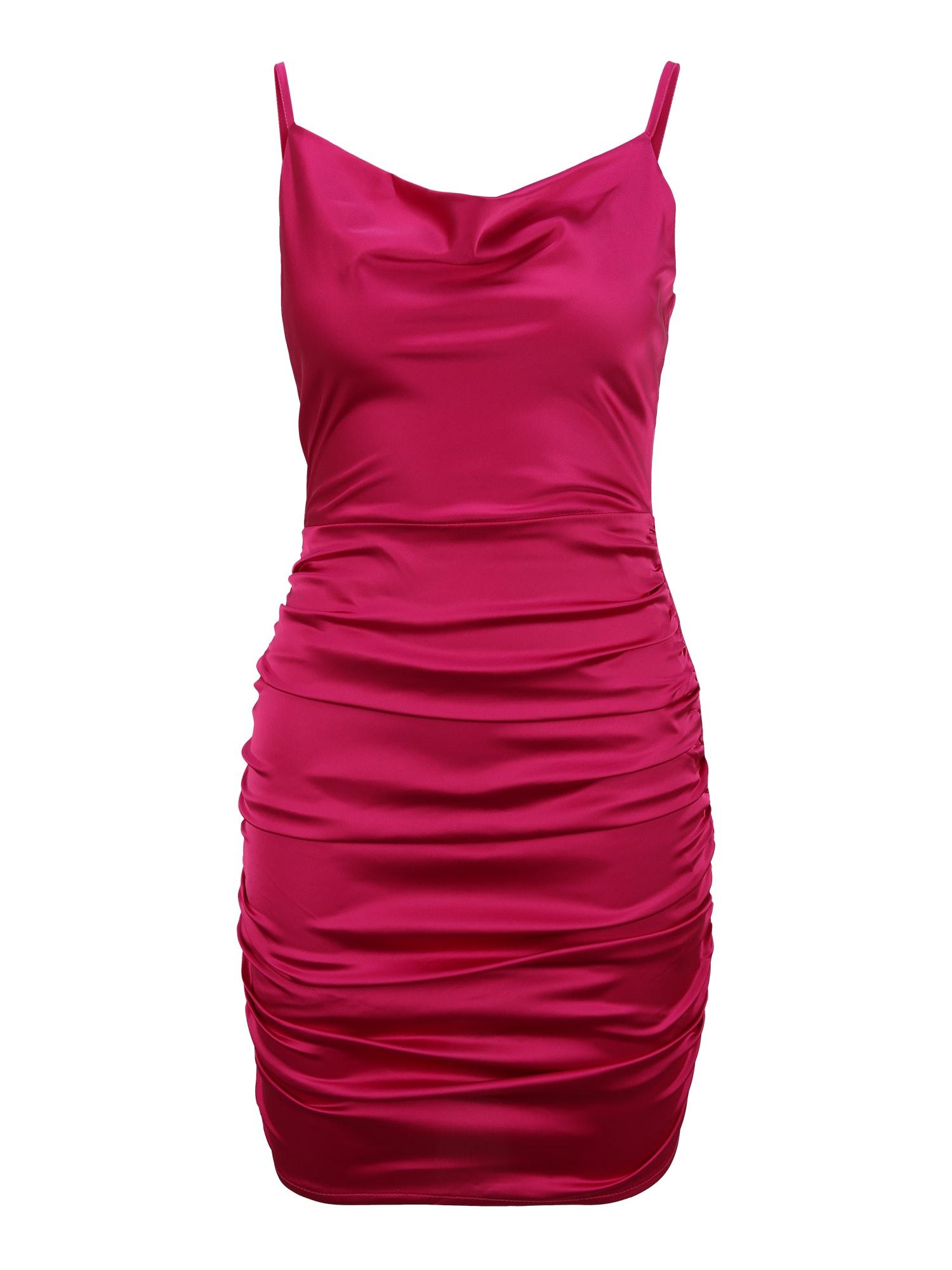 Missguided (Petite) Kokteilinė suknelė rožinė