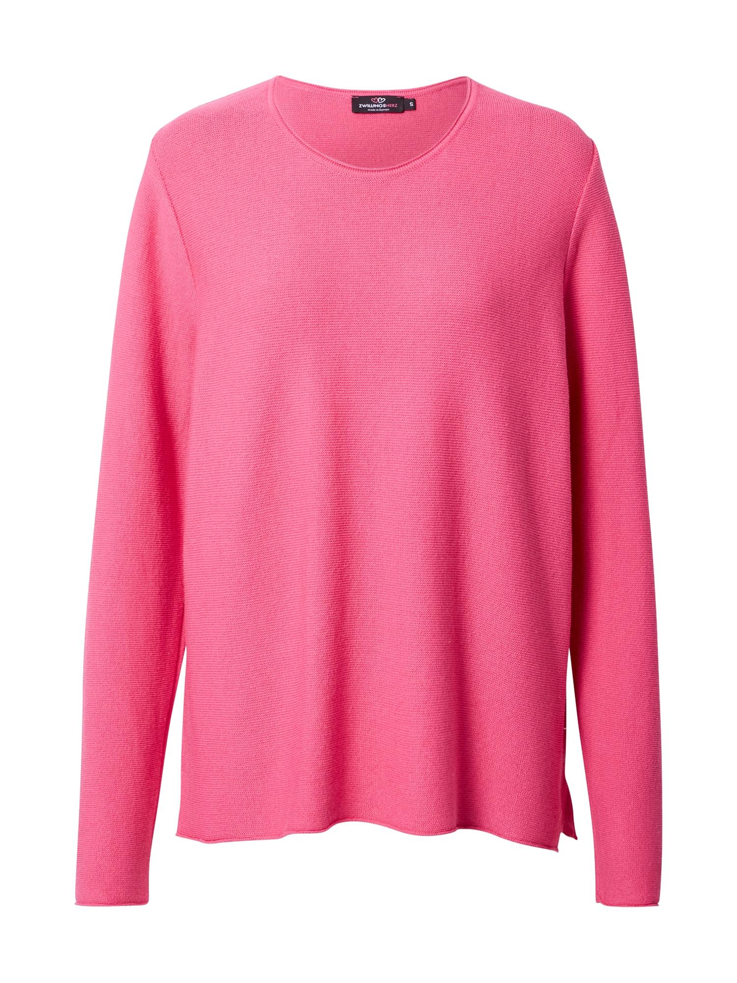 Zwillingsherz Megztinis rožinė