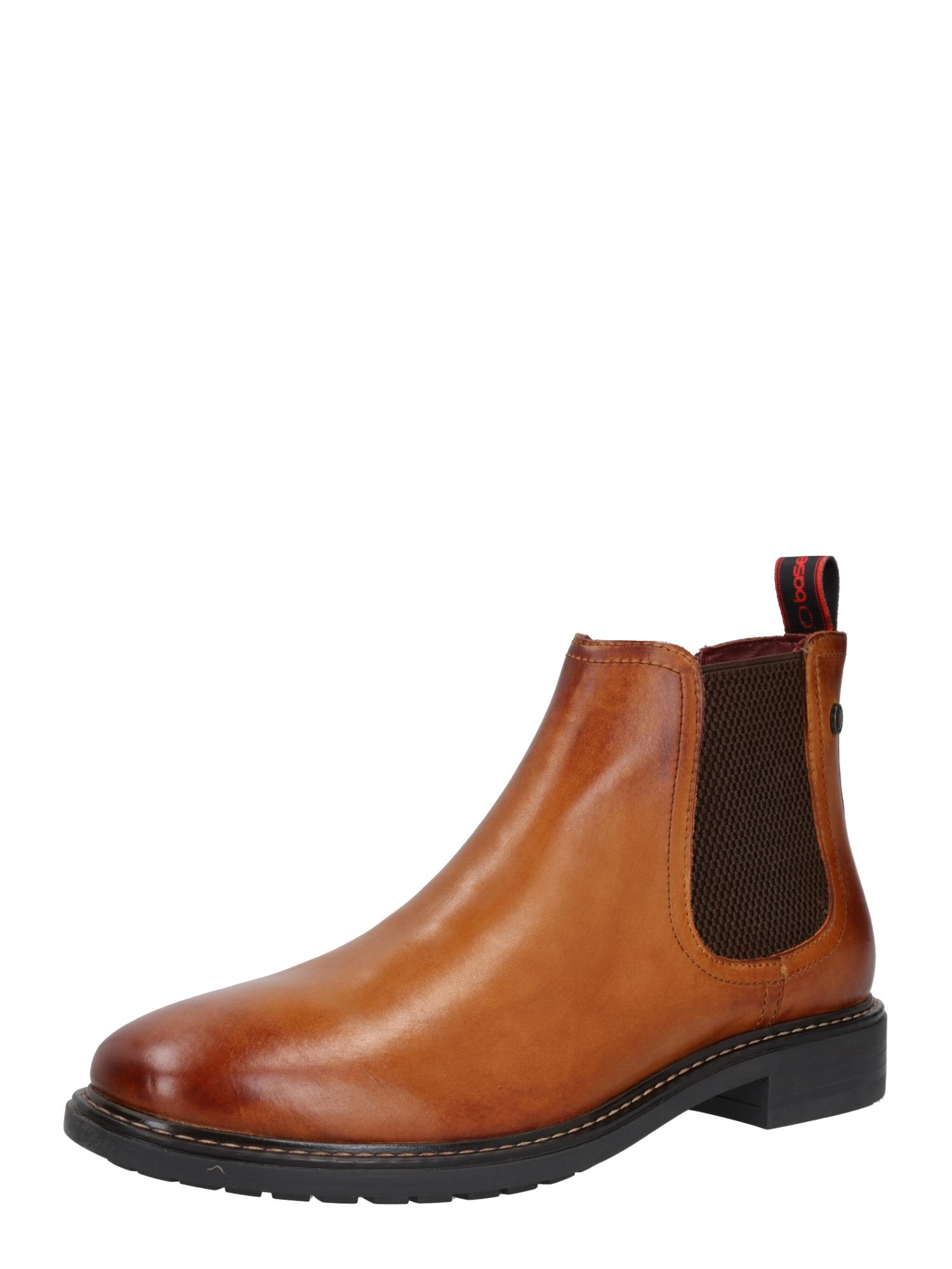 base London Auliniai batai su kulniuku 'SEYMOUR' ruda