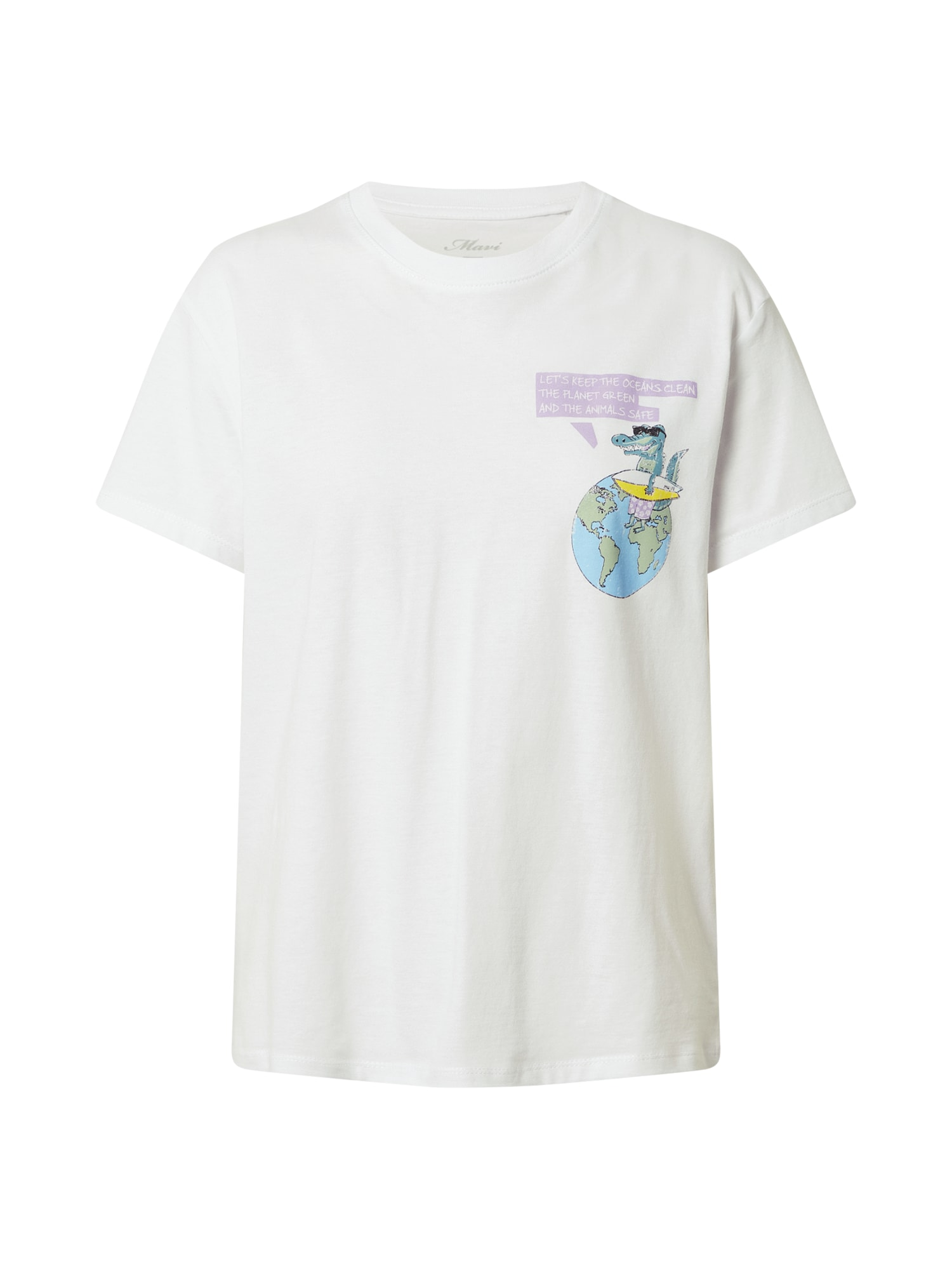 Mavi Marškinėliai balkšva / šviesiai žalia / pastelinė violetinė / geltona / mišrios spalvos