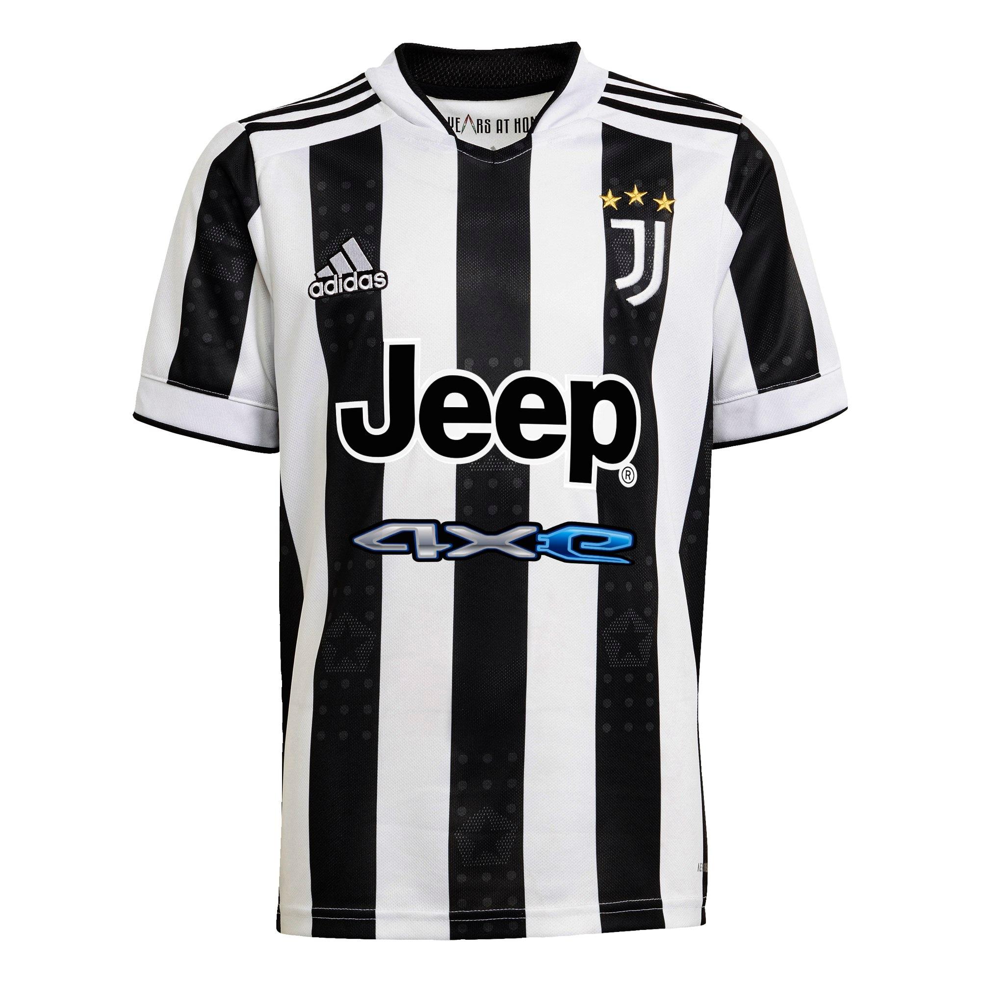 ADIDAS PERFORMANCE Sportiniai marškinėliai 'Juventus Turin 21/22' balta / juoda