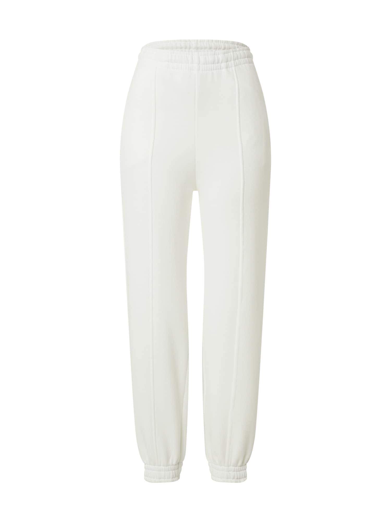 Gina Tricot Kelnės 'Elena' balta