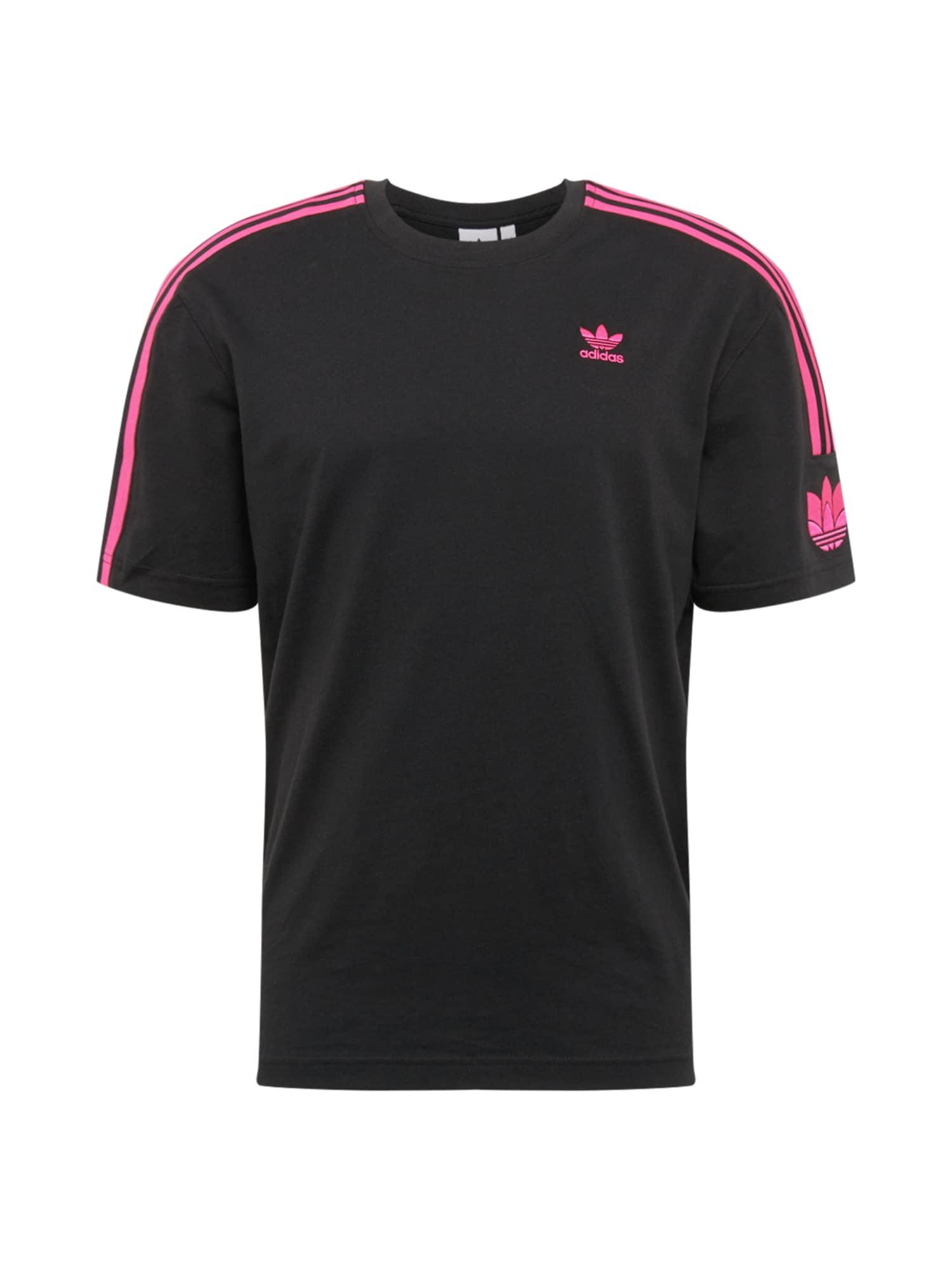 ADIDAS ORIGINALS Marškinėliai rožinė / juoda