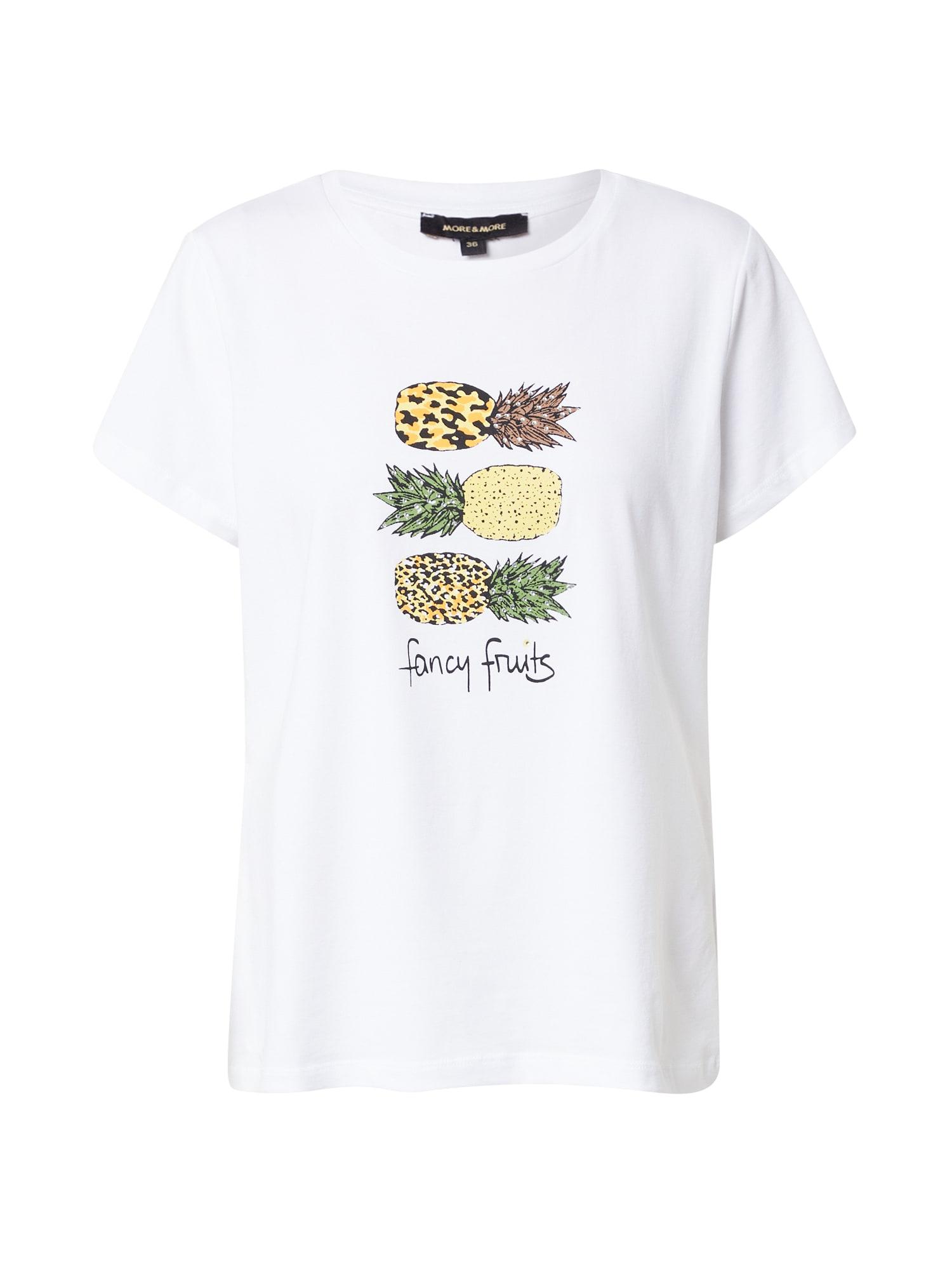 MORE & MORE Marškinėliai balta / mišrios spalvos