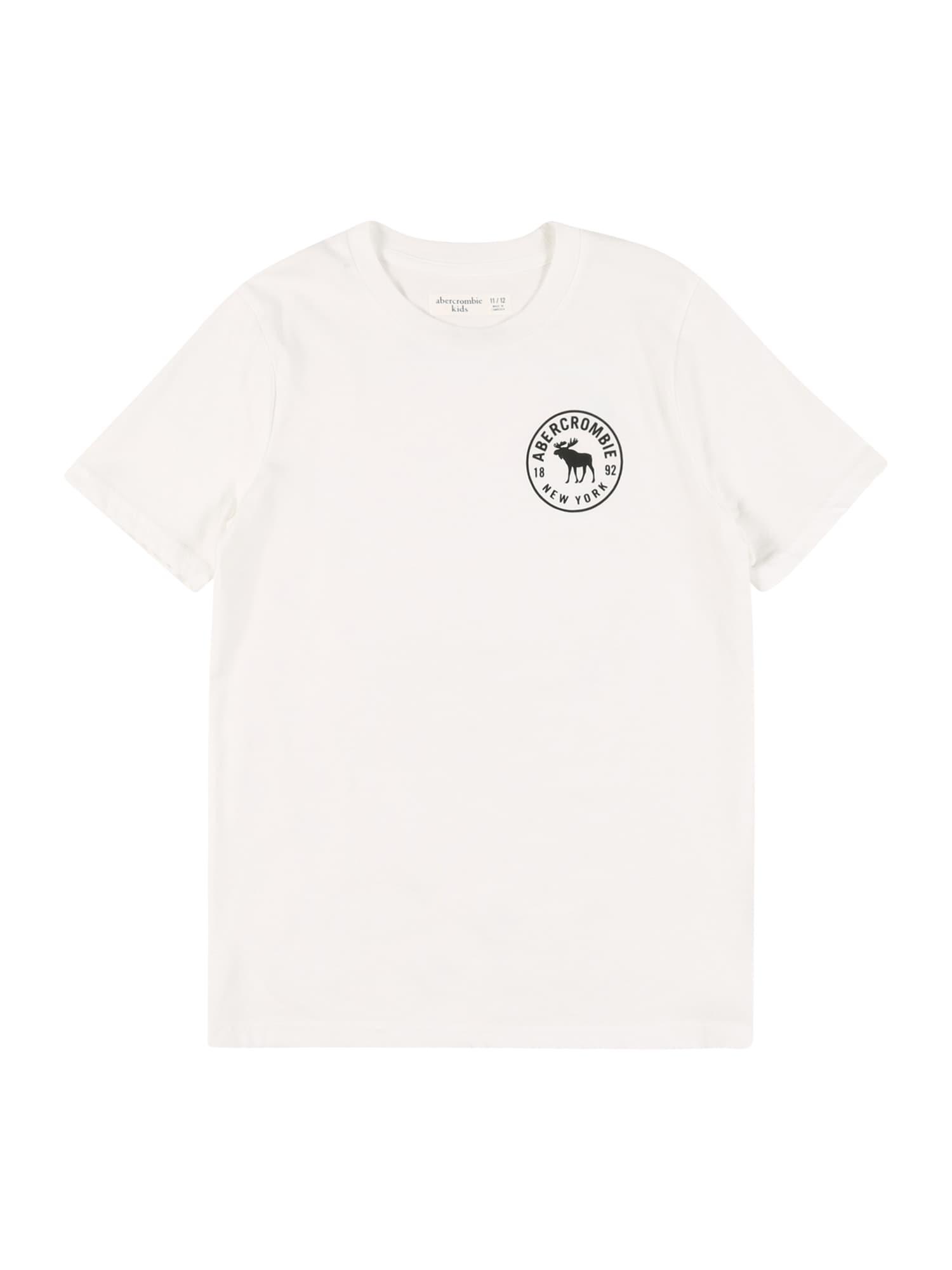 Abercrombie & Fitch Marškinėliai balta / juoda / šviesiai mėlyna / geltona / melionų spalva