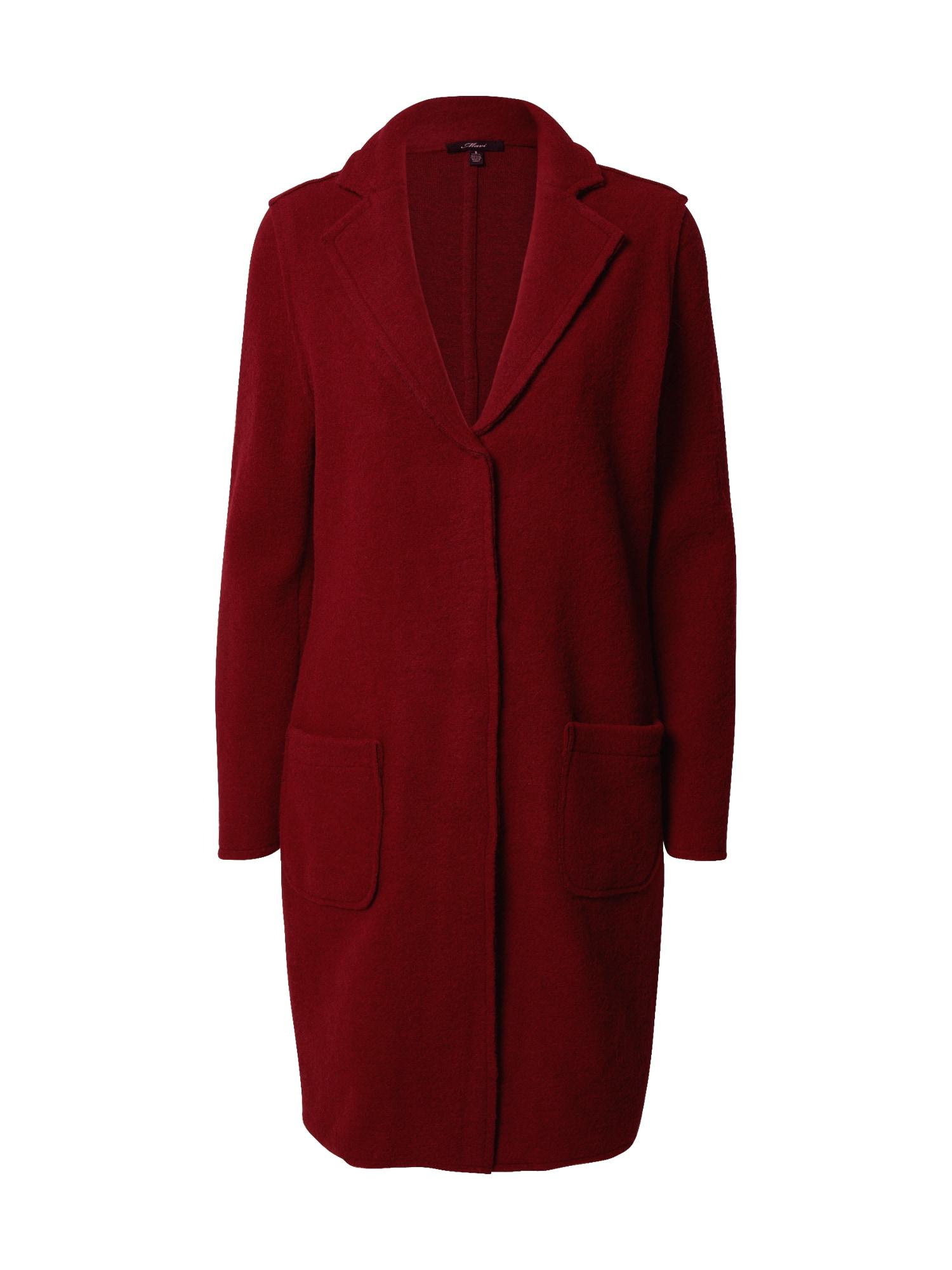 Mavi Demisezoninis paltas tamsiai raudona