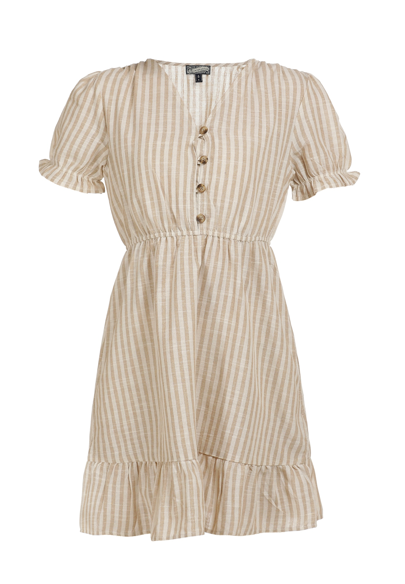 DreiMaster Vintage Vasarinė suknelė balta / smėlio