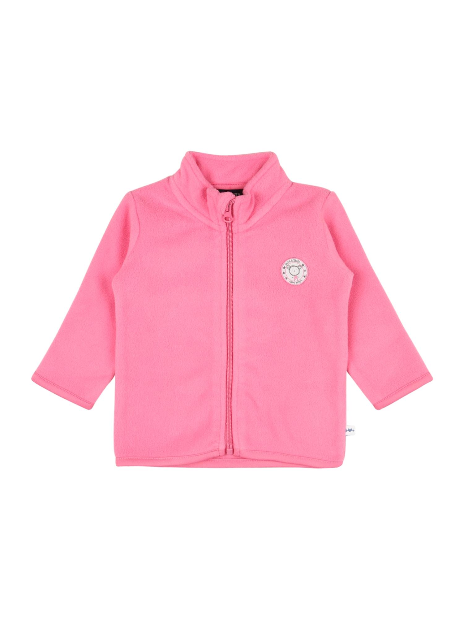 BLUE SEVEN Flisinis džemperis rožinė